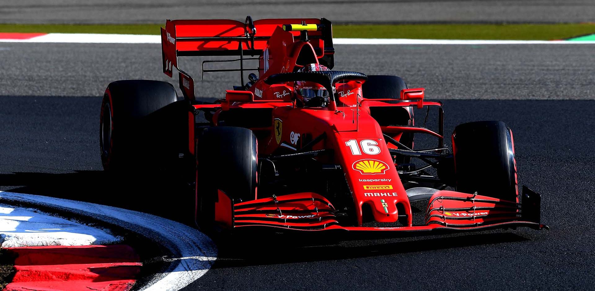 GP GERMANIA F1/2020 -  SABATO  10/10/2020   credit: @Scuderia Ferrari Press Office Charles Leclerc Ferrari