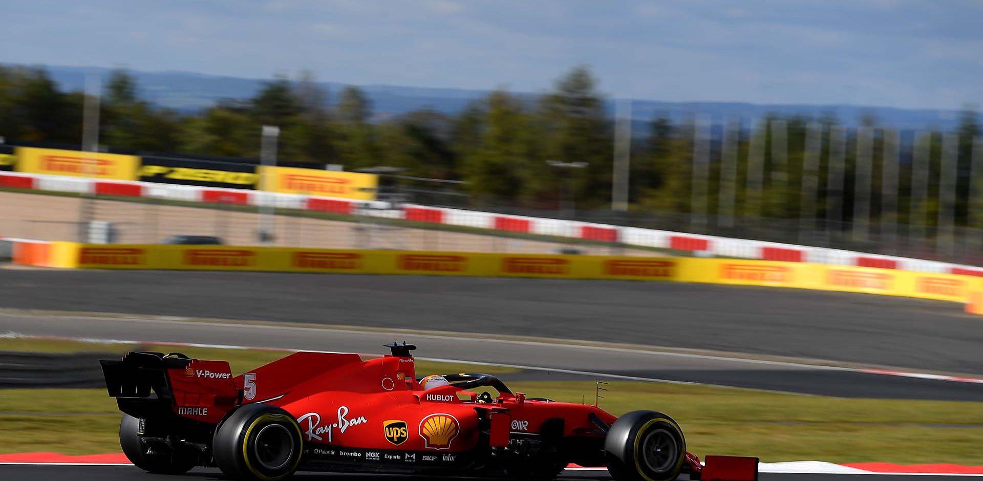 GP GERMANIA F1/2020 -  SABATO  10/10/2020   credit: @Scuderia Ferrari Press Office Sebastian Vettel