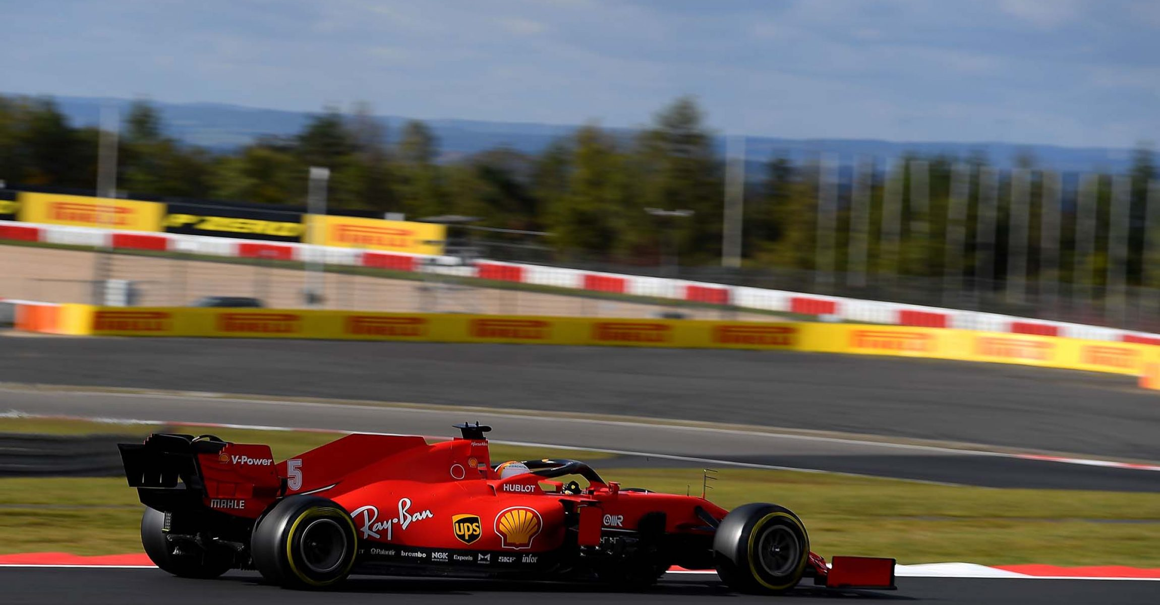 GP GERMANIA F1/2020 -  SABATO  10/10/2020   credit: @Scuderia Ferrari Press Office Sebastian Vettel