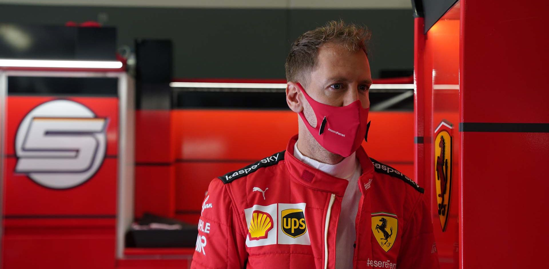 GP GERMANIA F1/2020 -  SABATO  10/10/2020   credit: @Scuderia Ferrari Press Office Sebastian Vettel Ferrari