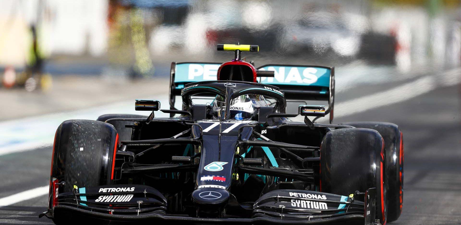 2020 Eifel Grand Prix, Saturday - LAT Images Valtteri Bottas Mercedes