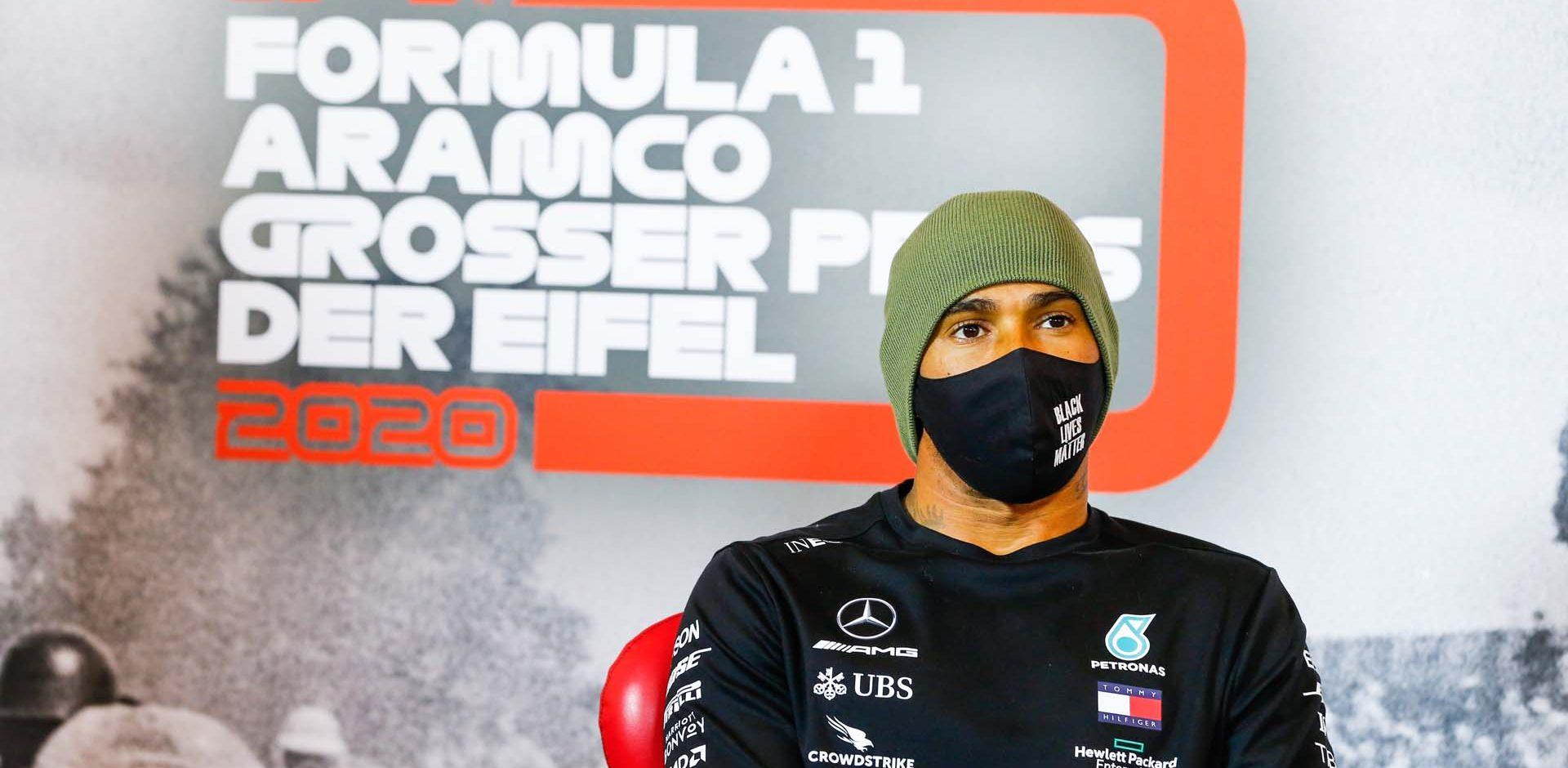 2020 Eifel Grand Prix, Saturday - LAT Images Lewis Hamilton Mercedes