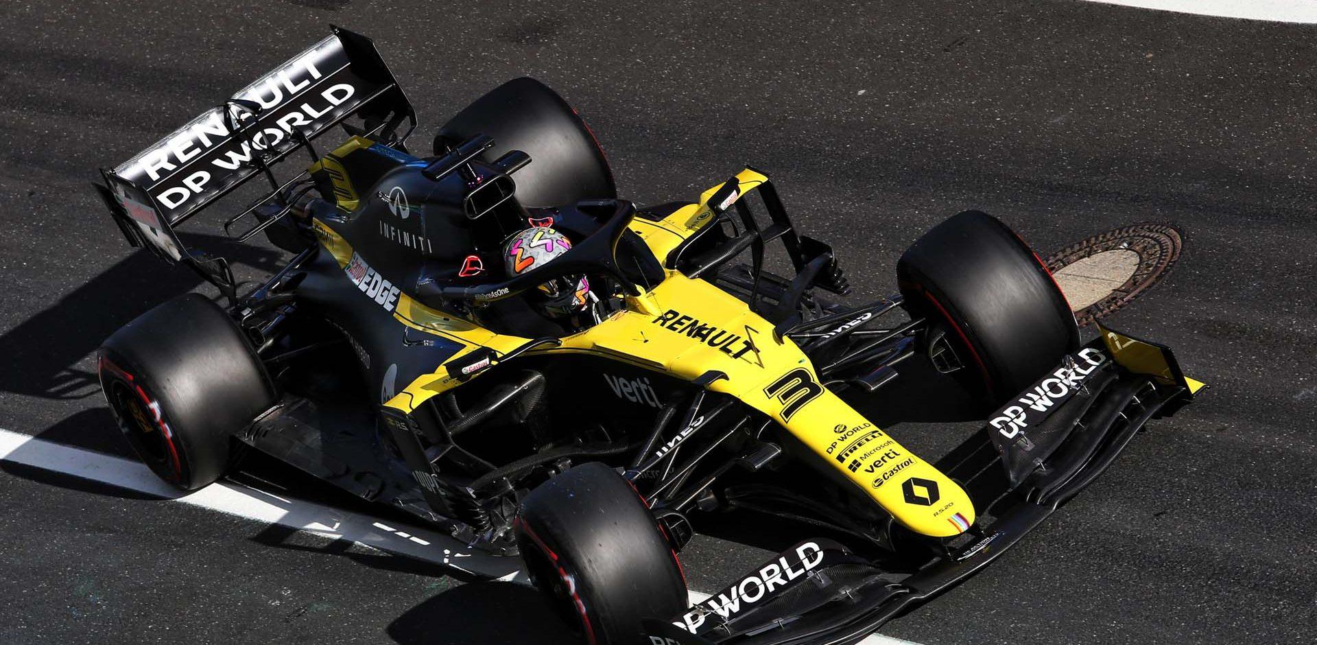 Daniel Ricciardo (AUS) Renault F1 Team RS20. Eifel Grand Prix, Saturday 10th October 2020. Nurbugring, Germany.