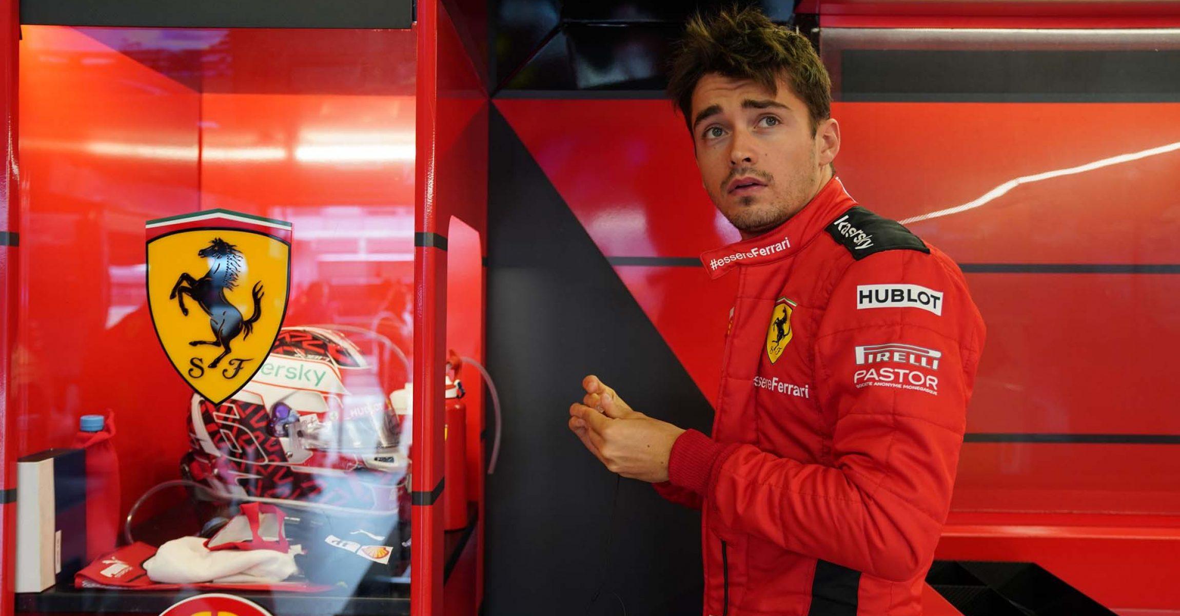 GP GERMANIA F1/2020 -  DOMENICA 11/10/2020   credit: @Scuderia Ferrari Press Office Charles Leclerc Ferrari