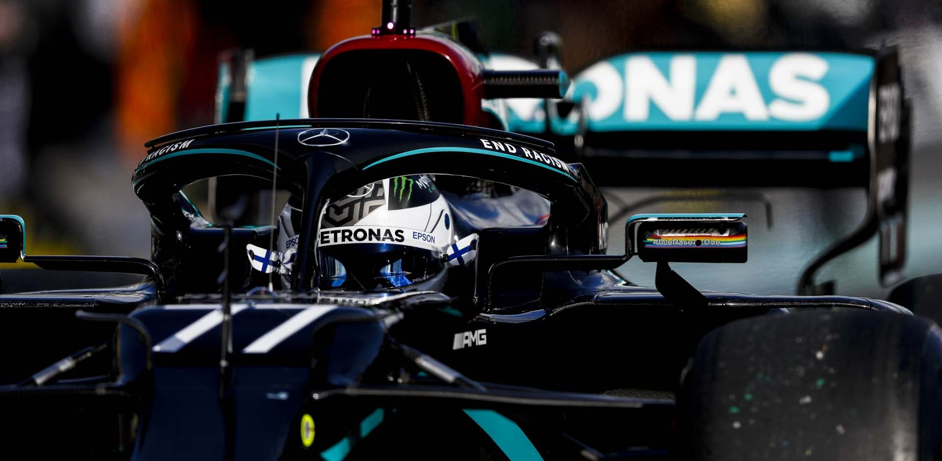 2020 Eifel Grand Prix, Sunday - LAT Images Valtteri Bottas Mercedes