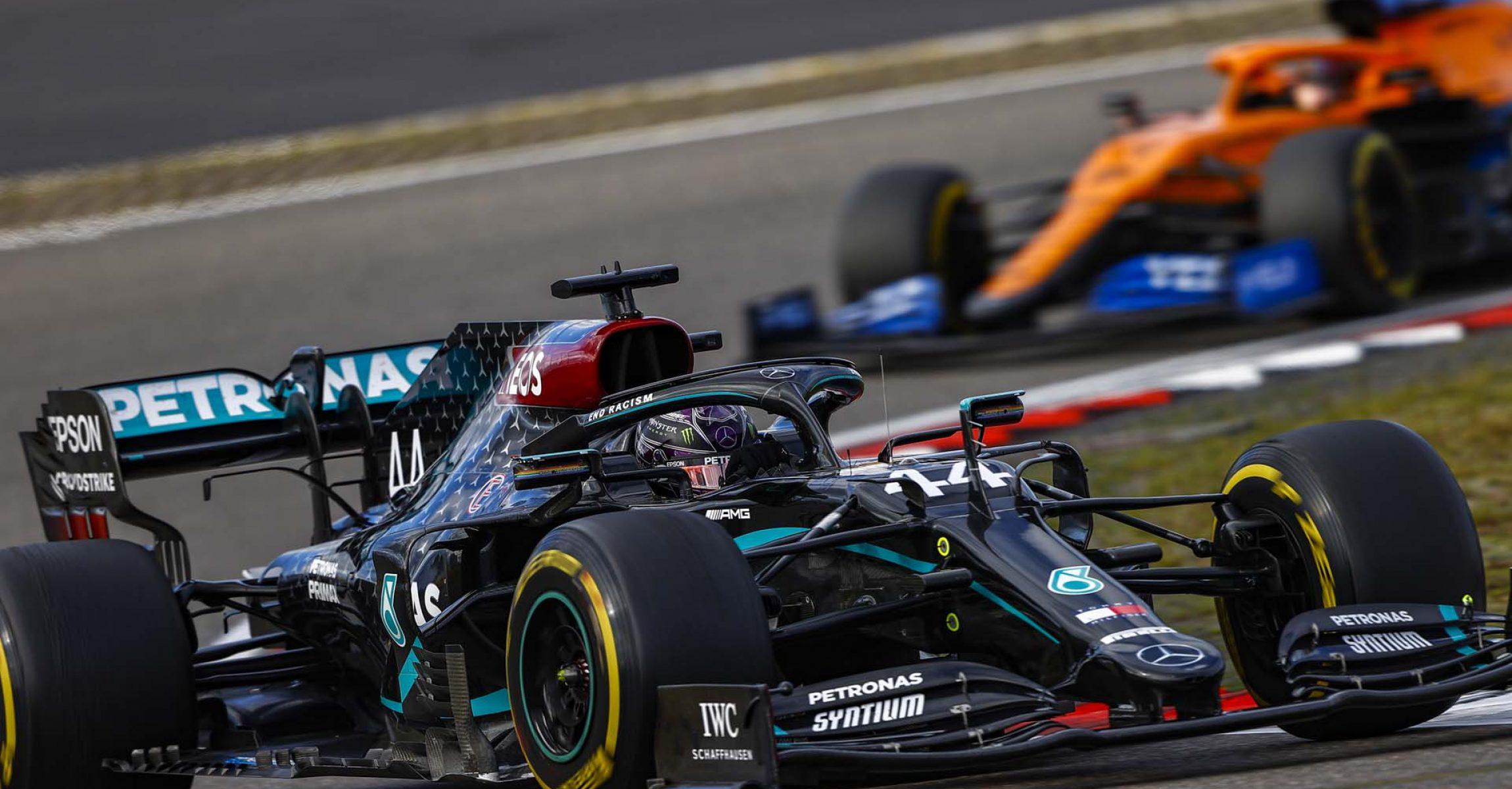 2020 Eifel Grand Prix, Sunday - LAT Images Lewis Hamilton Mercedes