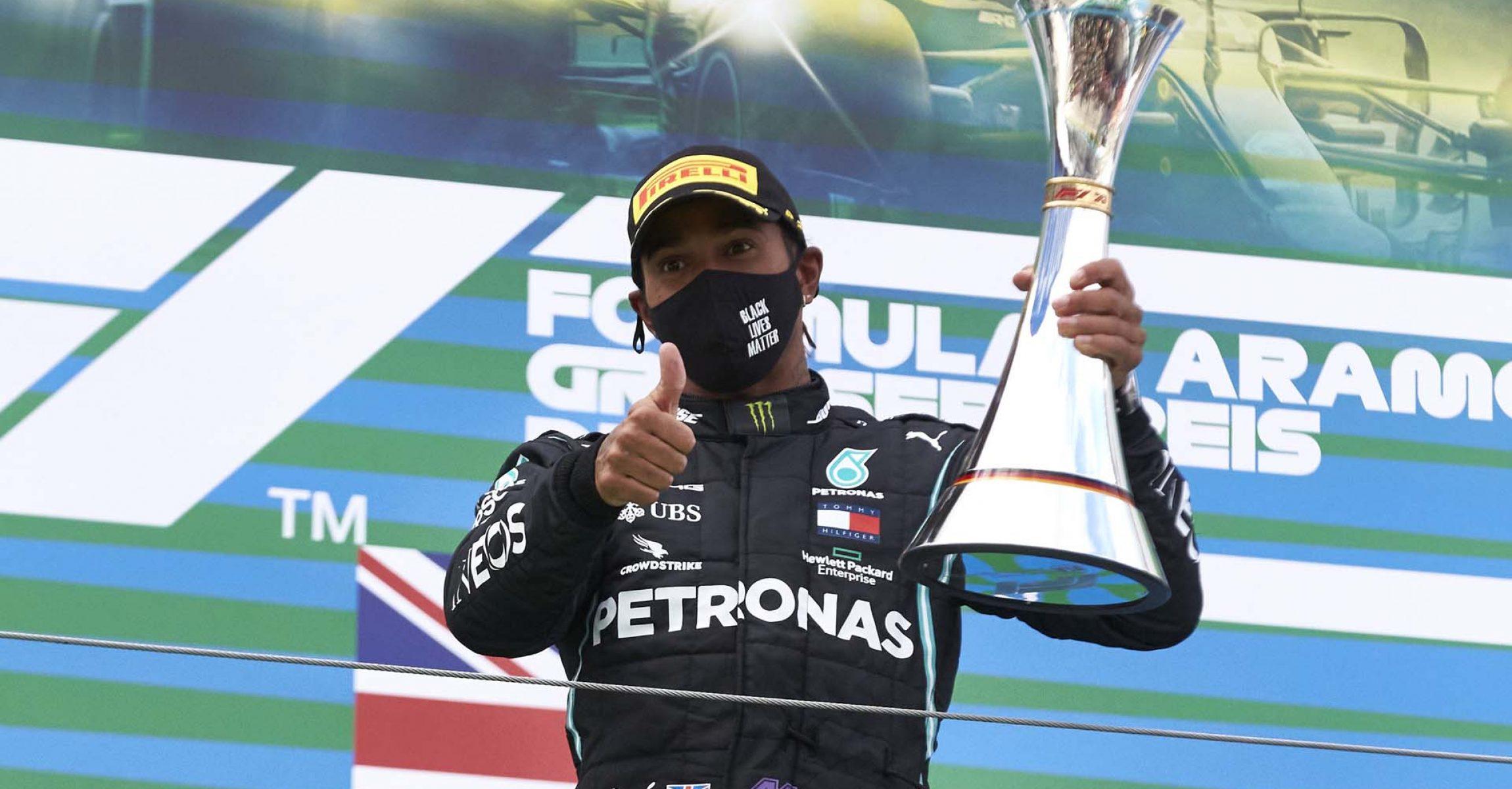 2020 Eifel Grand Prix, Sunday - Steve Etherington Lewis Hamilton Mercedes  Lewis Hamilton Mercedes