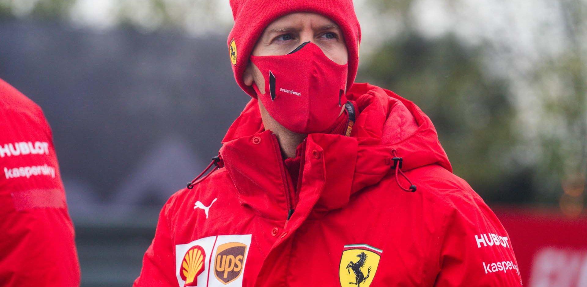 GP GERMANIA F1/2020 -  GIOVEDI 08/10/2020   credit: @Scuderia Ferrari Press Office Sebastian Vettel