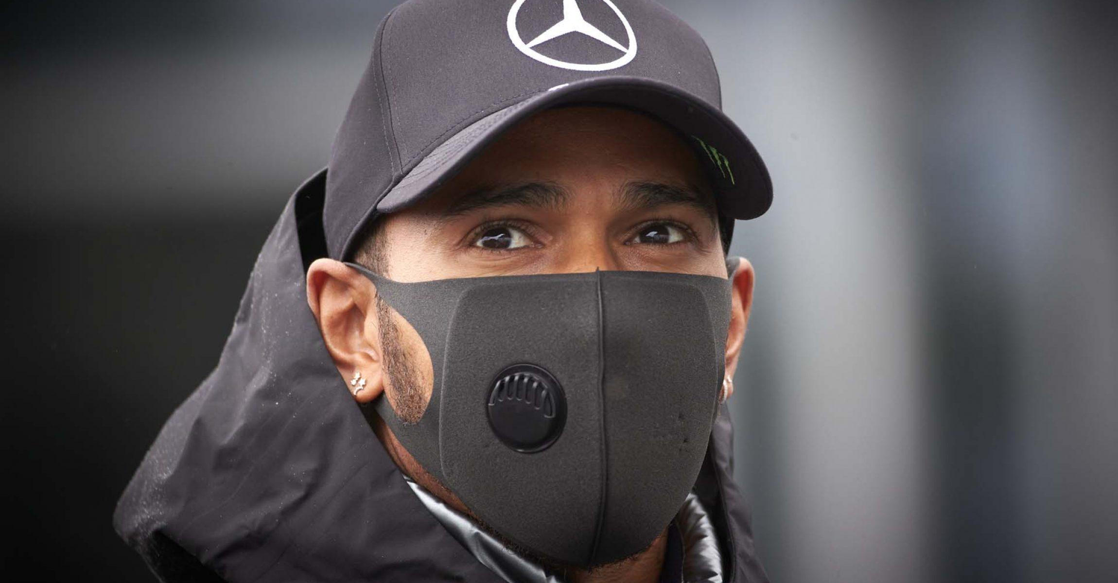 2020 Eifel Grand Prix, Thursday - Steve Etherington Lewis Hamilton Mercedes