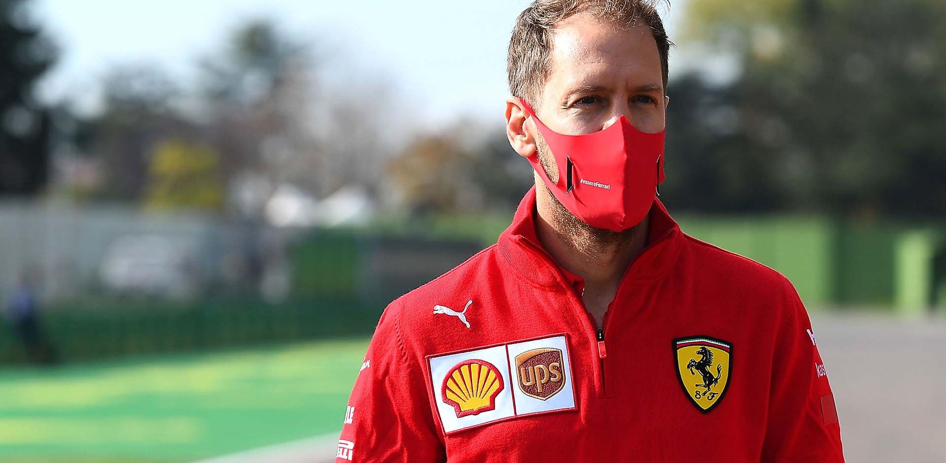 GP EMILIA ROMAGNA F1/2020 -  VENERDÌ 30/10/2020   credit: @Scuderia Ferrari Press Office Sebastian Vettel