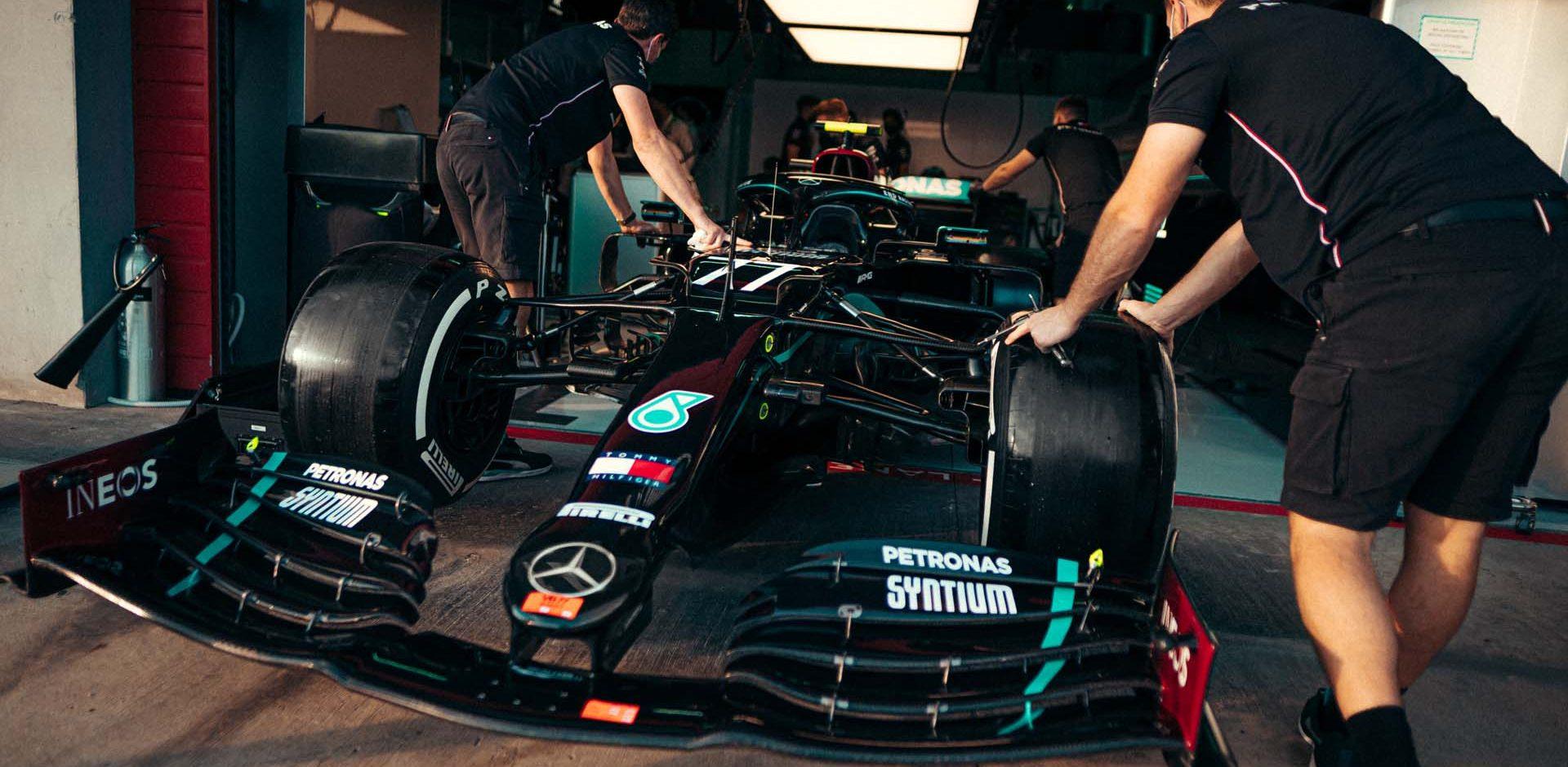 2020 Emilia Romagna Grand Prix, Friday - Sebastian Kawka Valtteri Bottas Mercedes