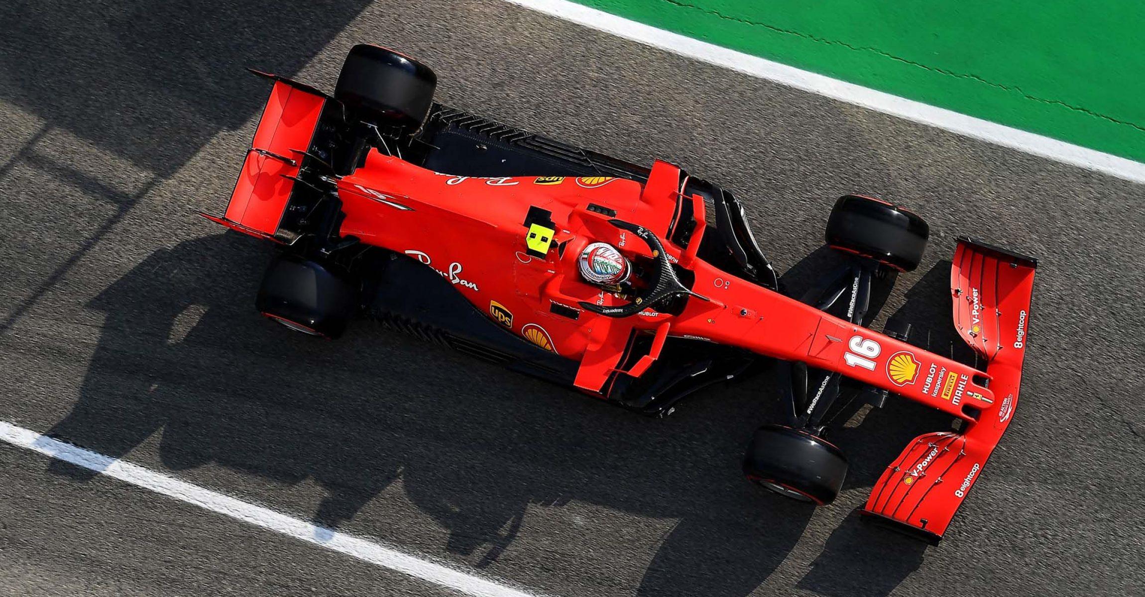 GP EMILIA ROMAGNA F1/2020 -  SABATO 31/10/2020    credit: @Scuderia Ferrari Press Office Charles Leclerc