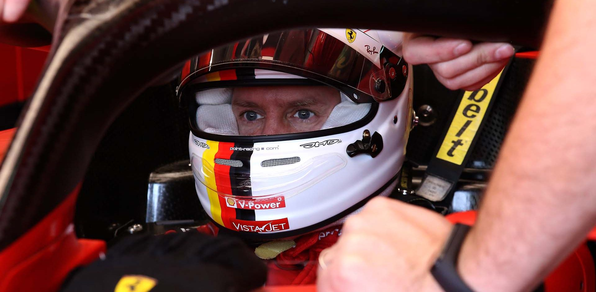 GP EMILIA ROMAGNA F1/2020 -  SABATO 31/10/2020    credit: @Scuderia Ferrari Press Office Sebastian Vettel