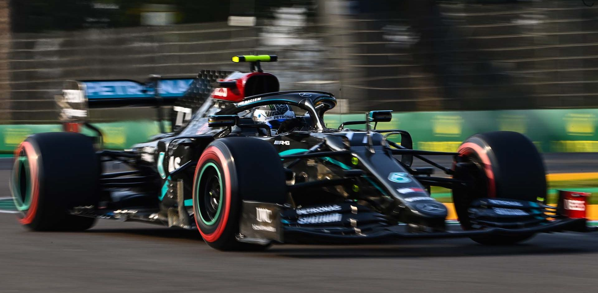 2020 Emilia Romagna Grand Prix, Saturday - LAT Images Valtteri Bottas Mercedes