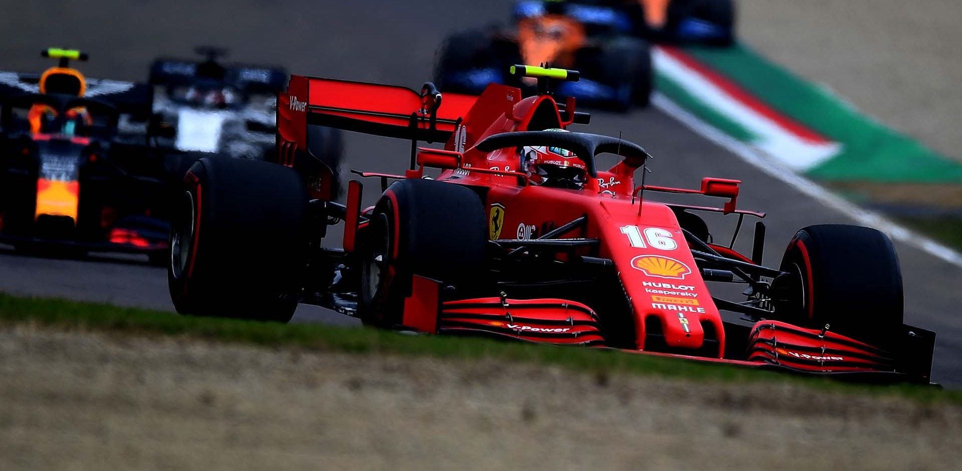 GP EMILIA ROMAGNA F1/2020 -  DOMENICA 01/11/2020   credit: @Scuderia Ferrari Press Office Charles Leclerc