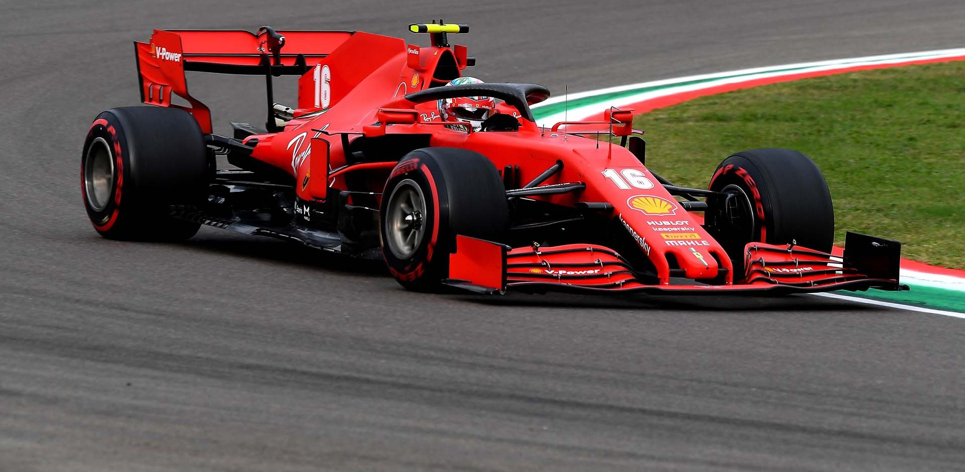 GP EMILIA ROMAGNA F1/2020 -  DOMENICA 01/11/2020   credit: @Scuderia Ferrari Press Office Charles Leclerc