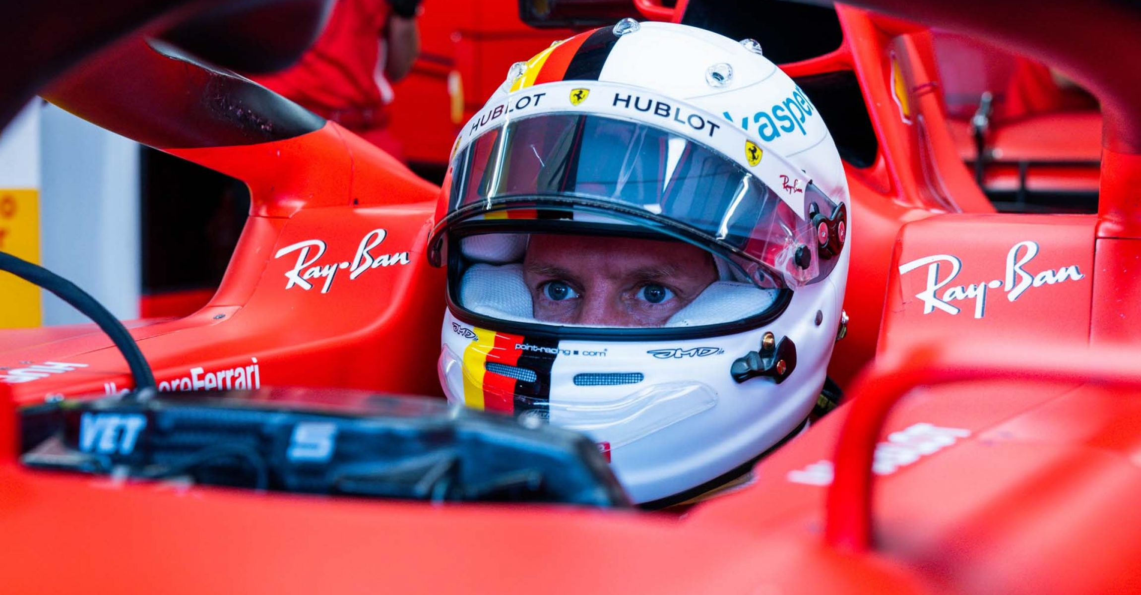 GP UNGHERIA F1/2020 - VENERDÌ 17/07/2020 credit: @Scuderia Ferrari Press Office Sebastian Vettel