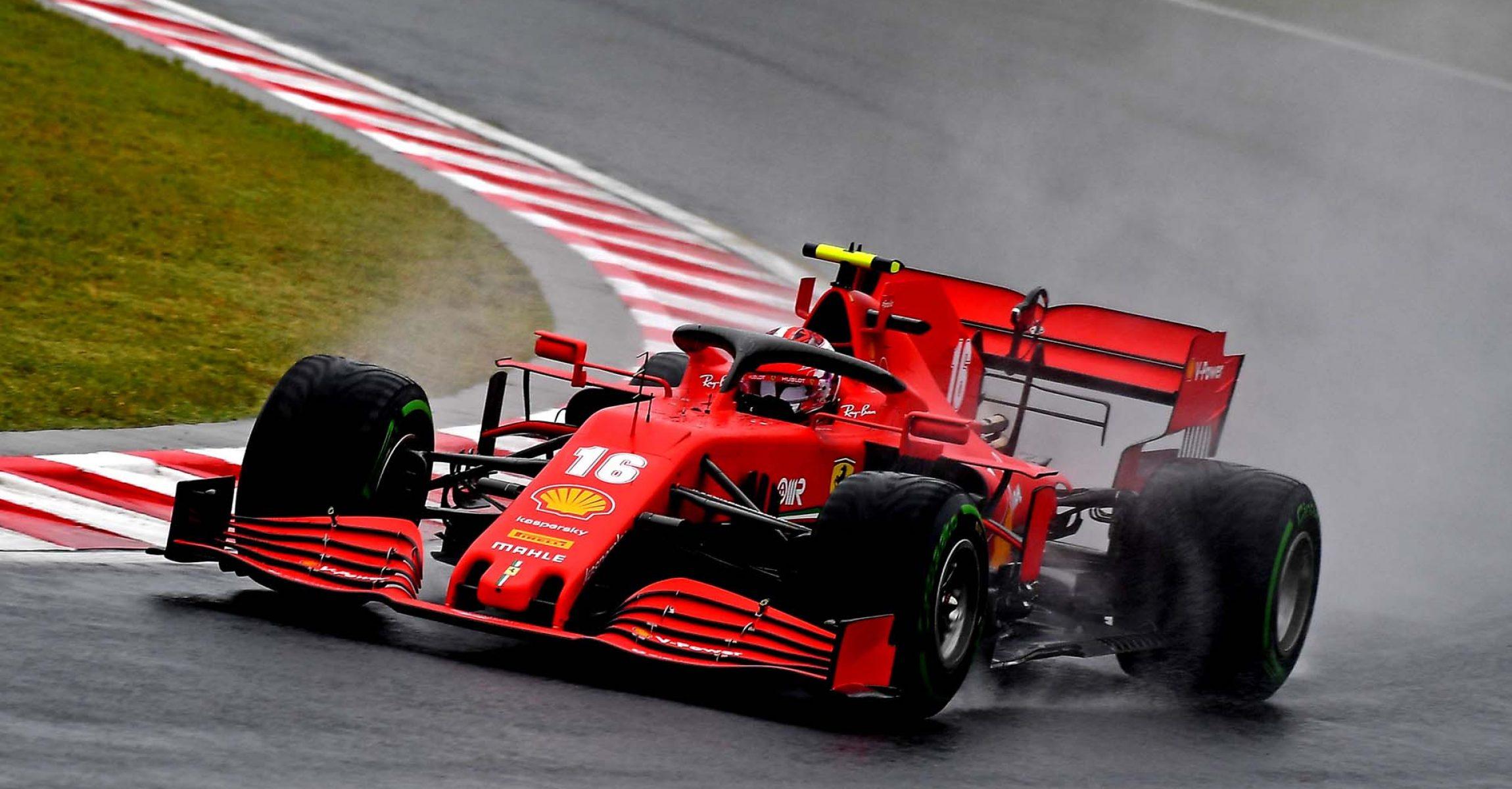 GP UNGHERIA  F1/2020 -  VENERDÌ 17/07/2020      credit: @Scuderia Ferrari Press Office Charles Leclerc Ferrari