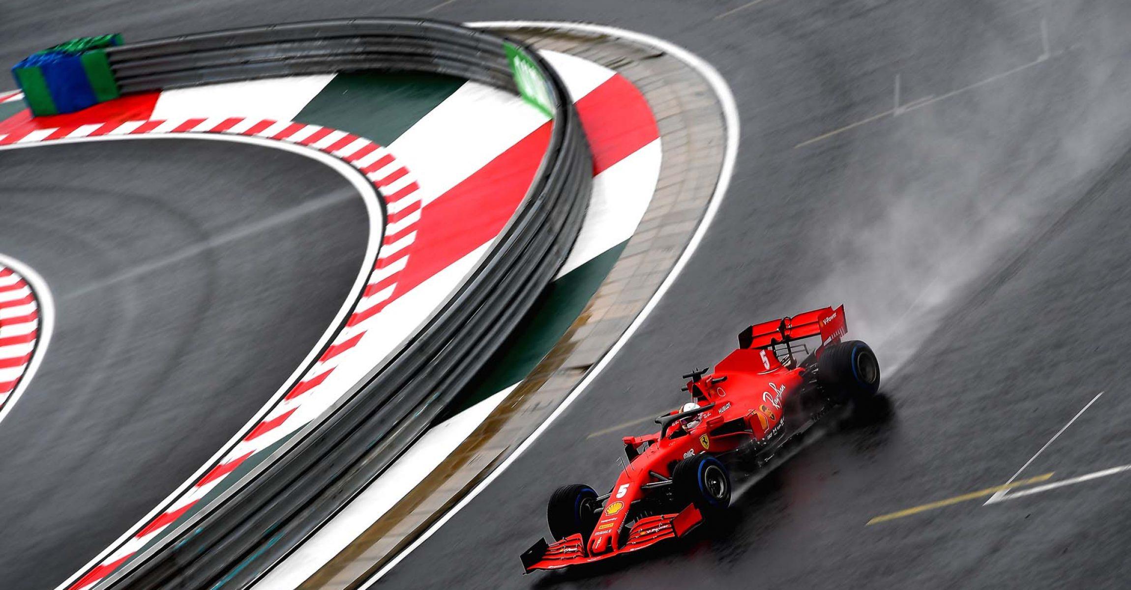 GP UNGHERIA F1/2020 - VENERDÌ 17/07/2020 credit: @Scuderia Ferrari Press Office Sebastian Vettel