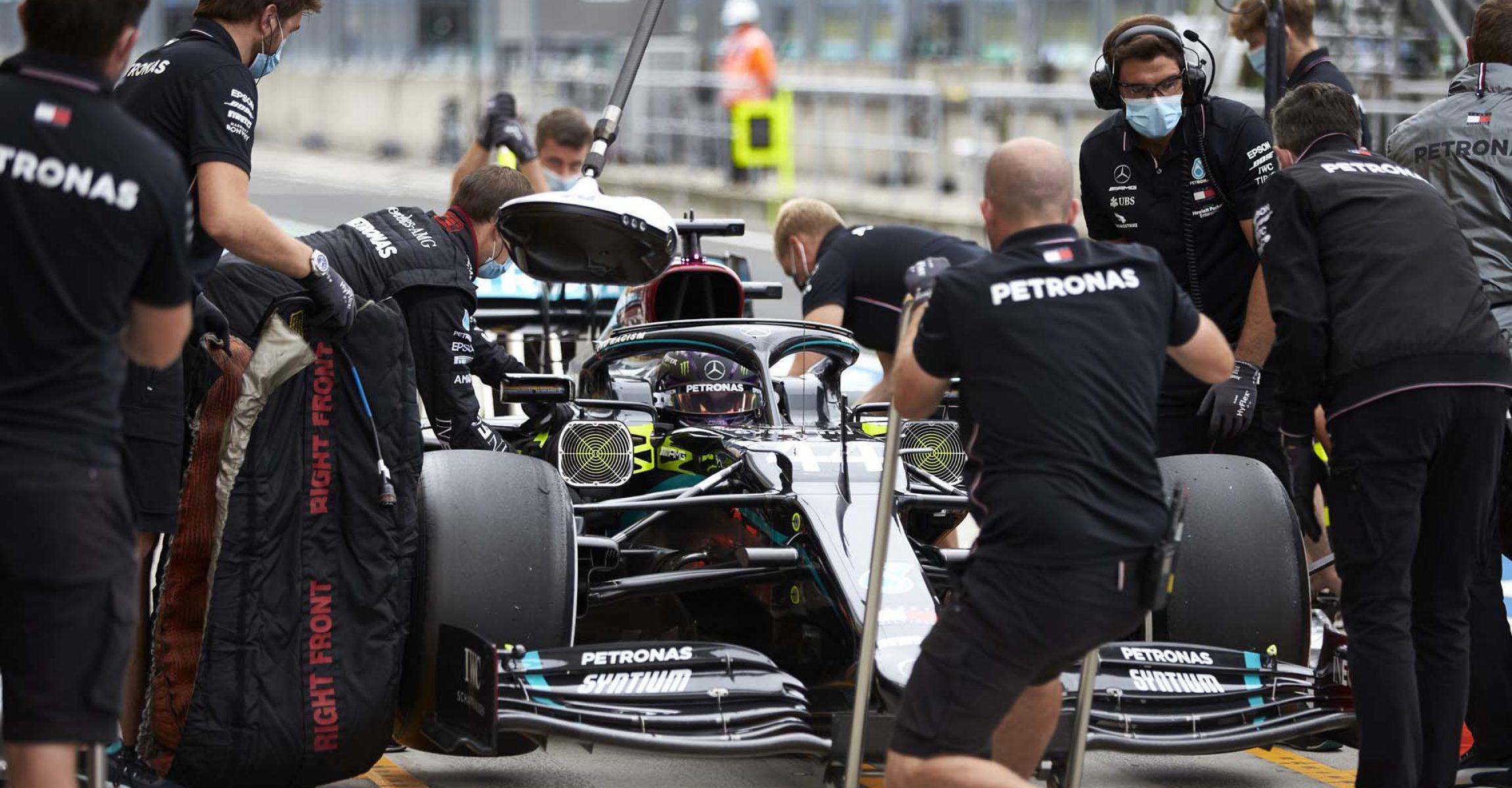 2020 Hungarian Grand Prix, Friday - Steve Etherington Lewis Hamilton Mercedes