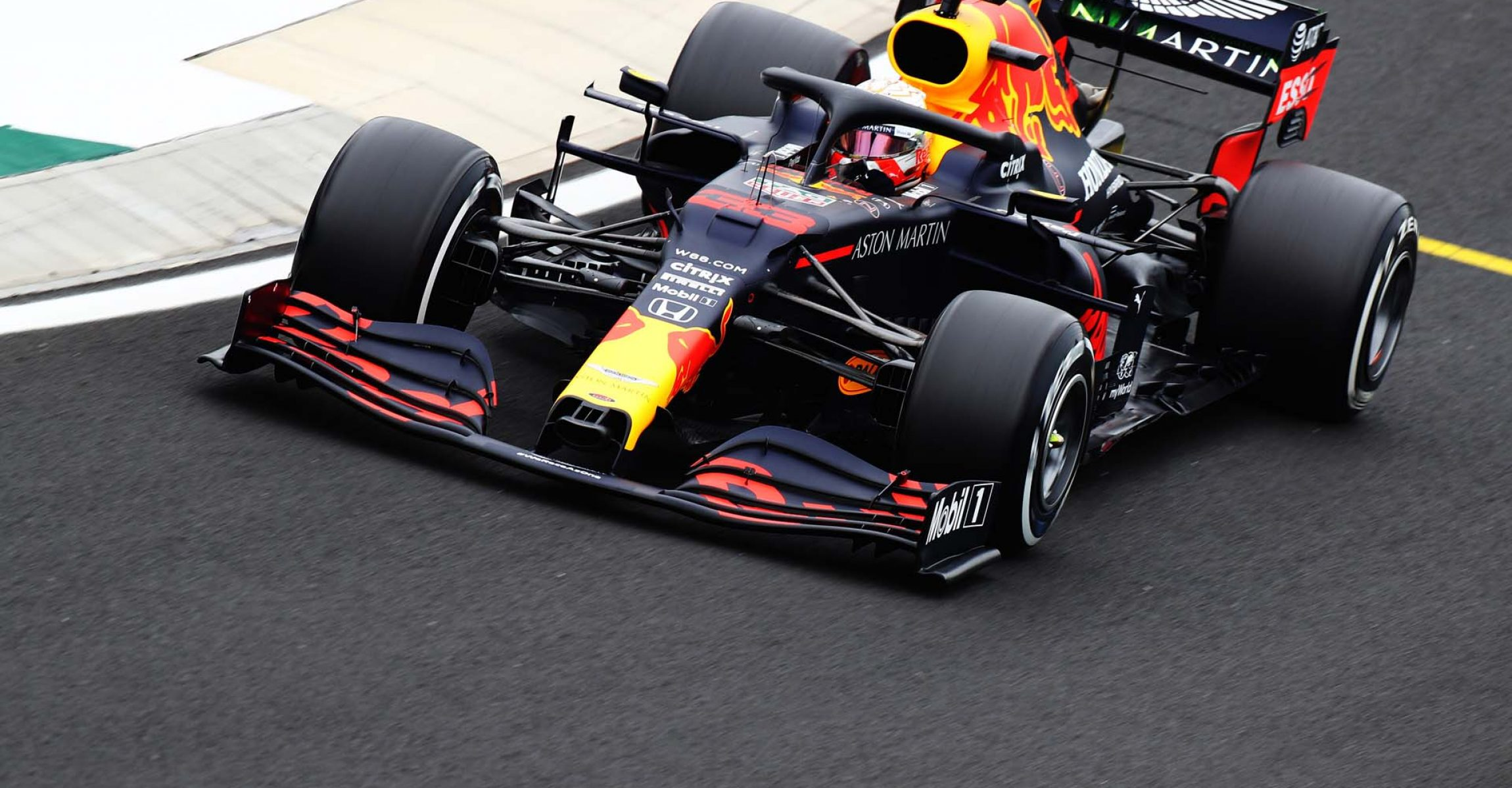 BUDAPEST, HUNGARY - JULY 17: Max Verstappen of the Netherlands driving the (33) Aston Martin Red Bull Racing RB16 on track during practice for the F1 Grand Prix of Hungary at Hungaroring on July 17, 2020 in Budapest, Hungary. (Photo by Mark Thompson/Getty Images,) // Getty Images / Red Bull Content Pool // AP-24NG3PKVS2111 // Usage for editorial use only //