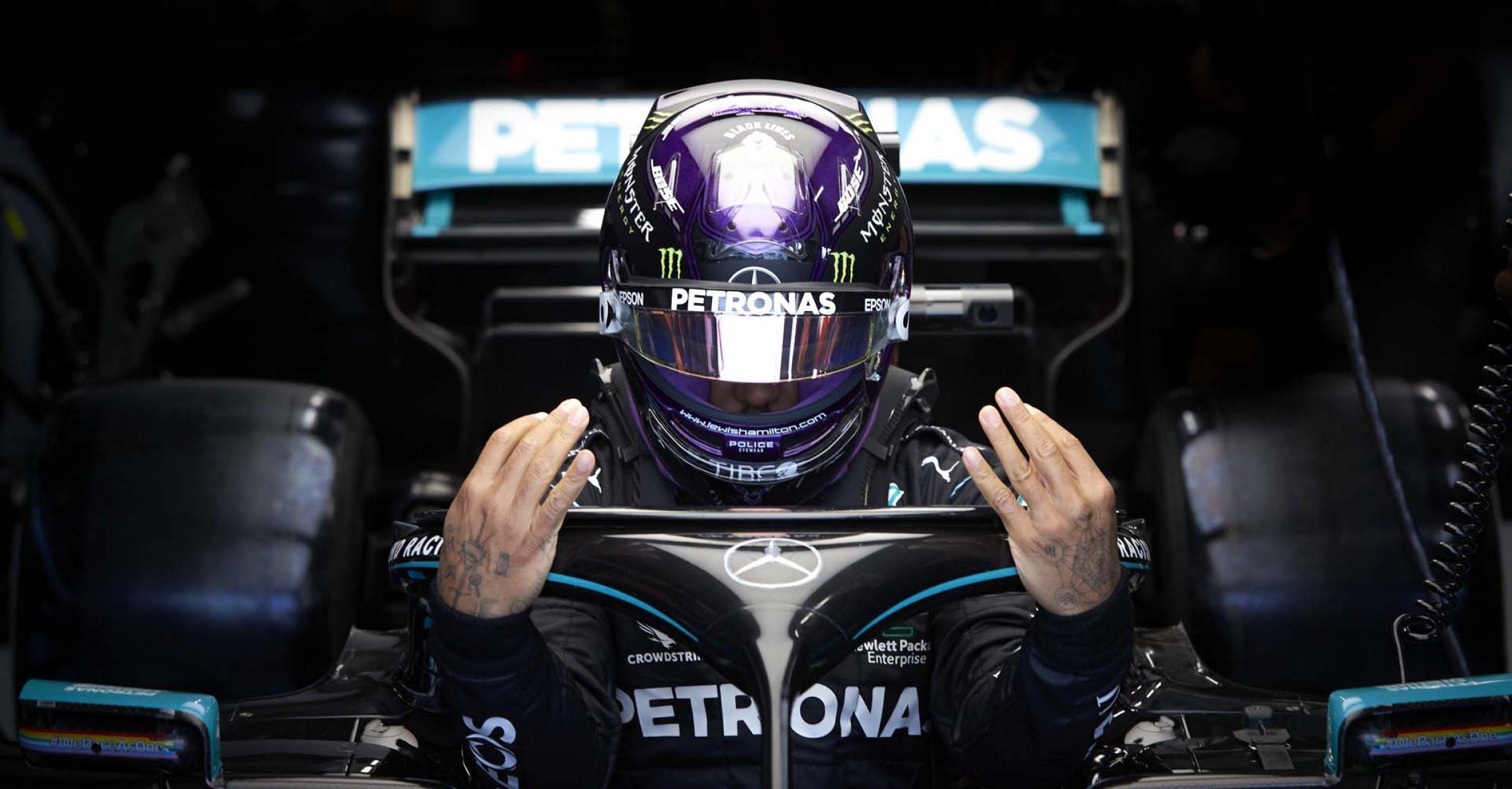2020 Hungarian Grand Prix, Saturday - Steve Etherington Lewis Hamilton Mercedes