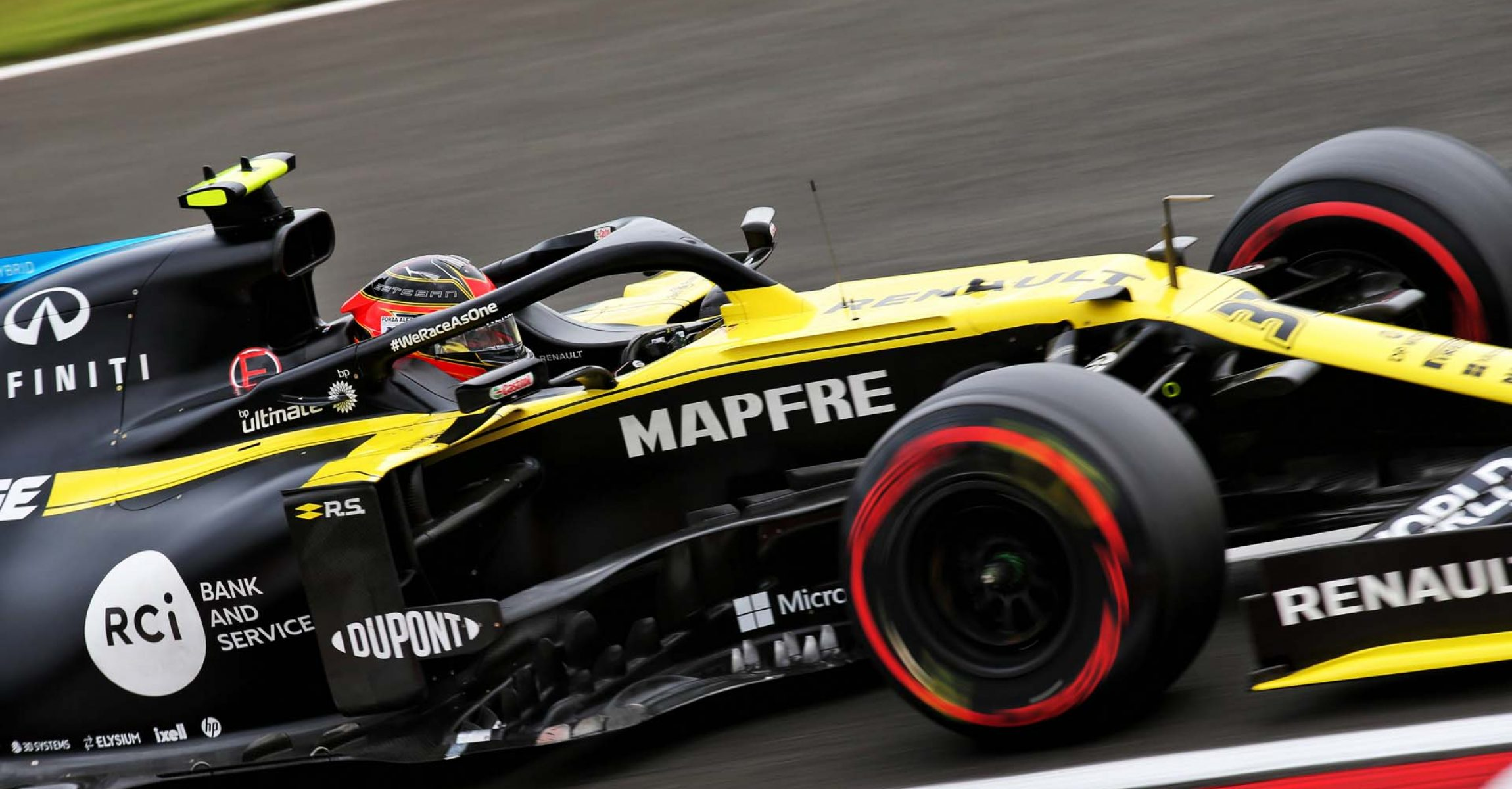 Esteban Ocon (FRA) Renault F1 Team RS20. Hungarian Grand Prix, Saturday 18th July 2020. Budapest, Hungary.