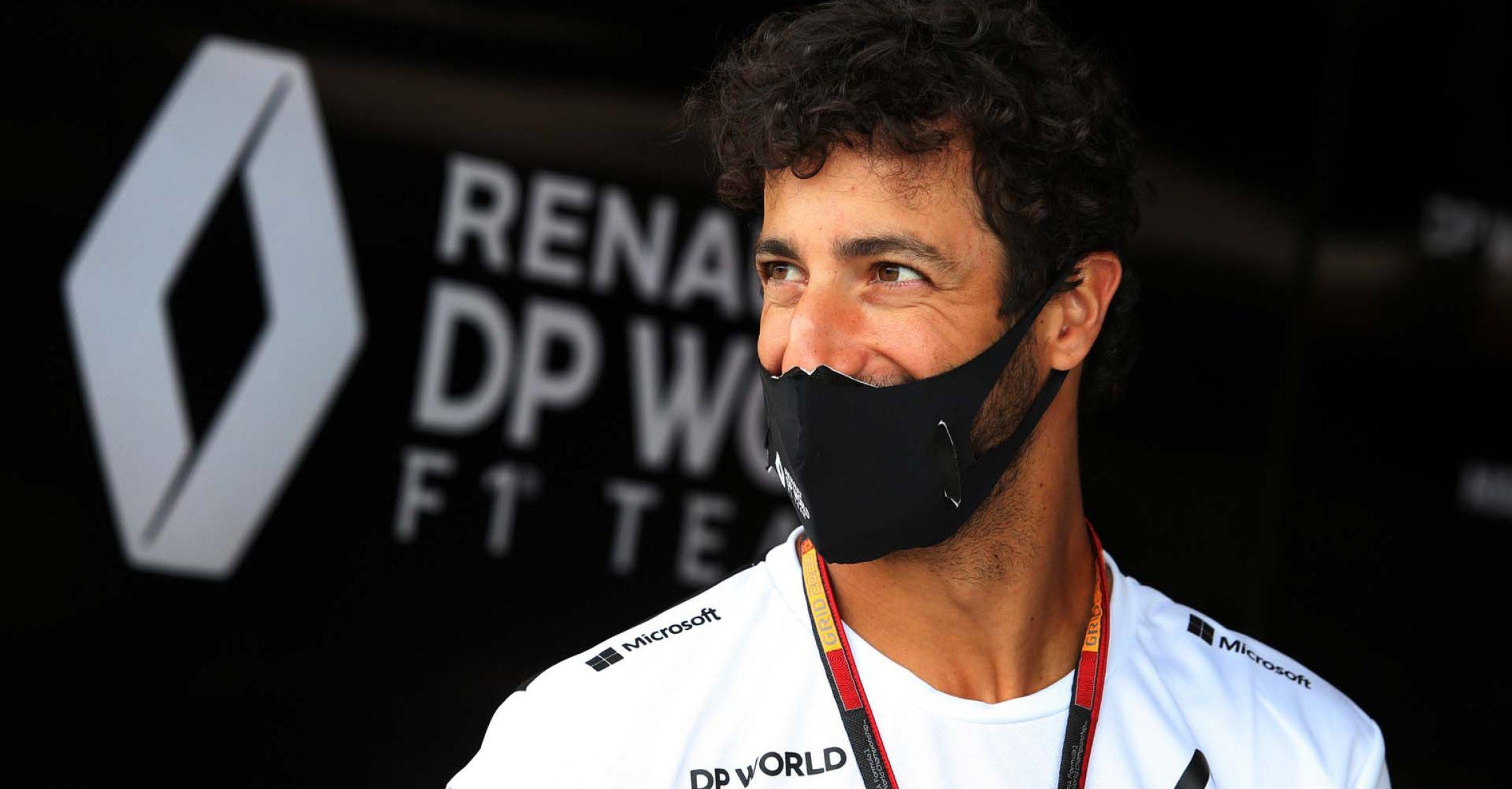 Daniel Ricciardo (AUS) Renault F1 Team. Hungarian Grand Prix, Thursday 16th July 2020. Budapest, Hungary.