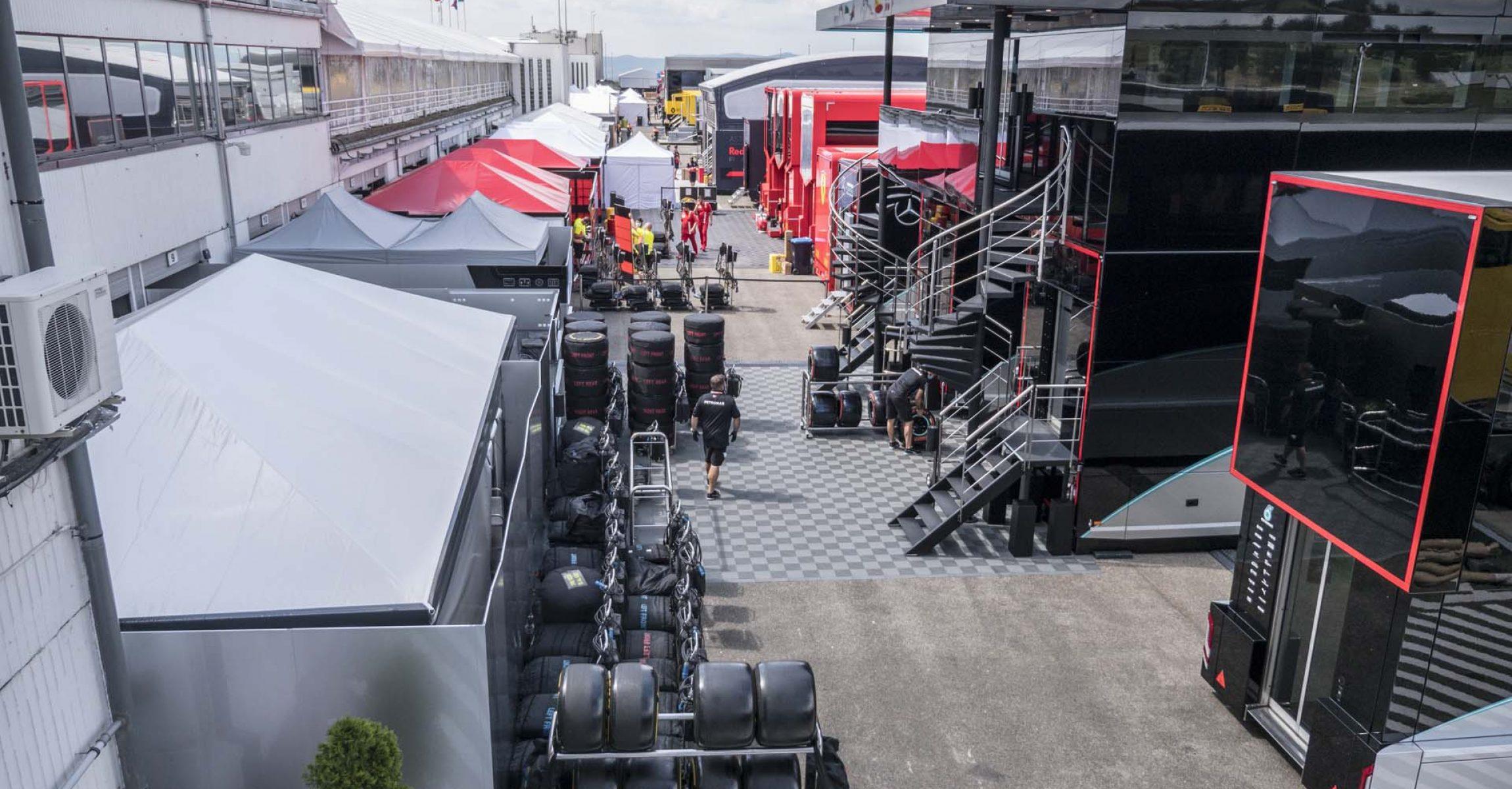 Hungarian GP 2020, Hungaroring, Paddock,