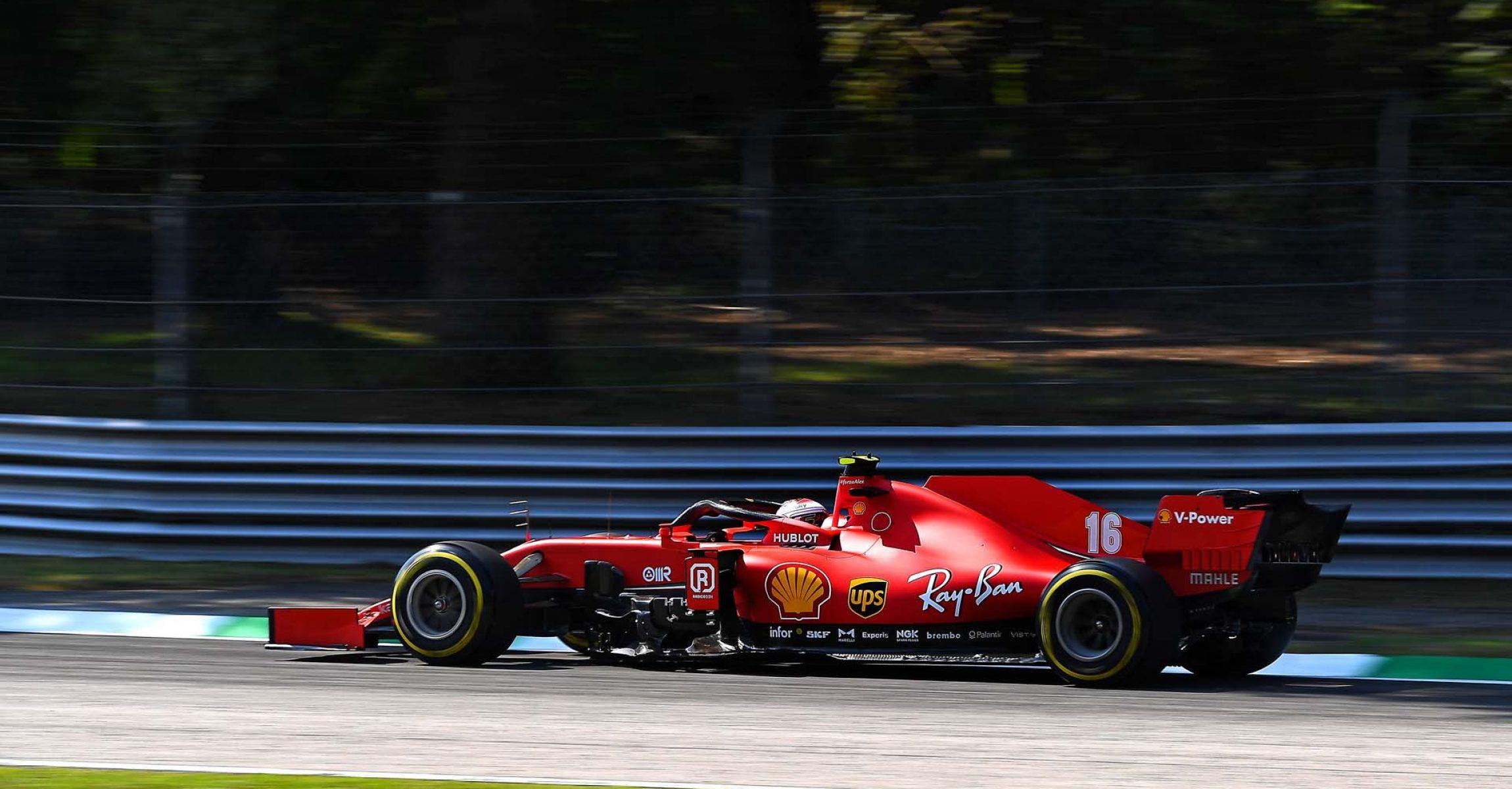 GP ITALIA F1/2020 -  VENERDÌ 04/09/2020       credit: @Scuderia Ferrari Press Office Charles Leclerc