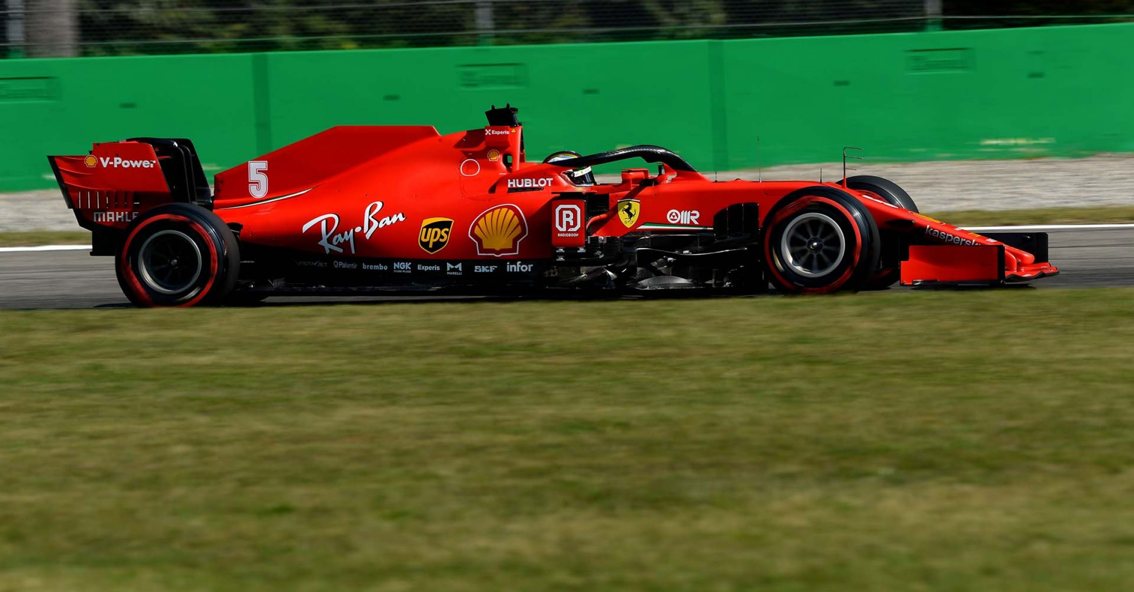 GP ITALIA F1/2020 -  VENERDÌ 04/09/2020       credit: @Scuderia Ferrari Press Office Sebastian Vettel