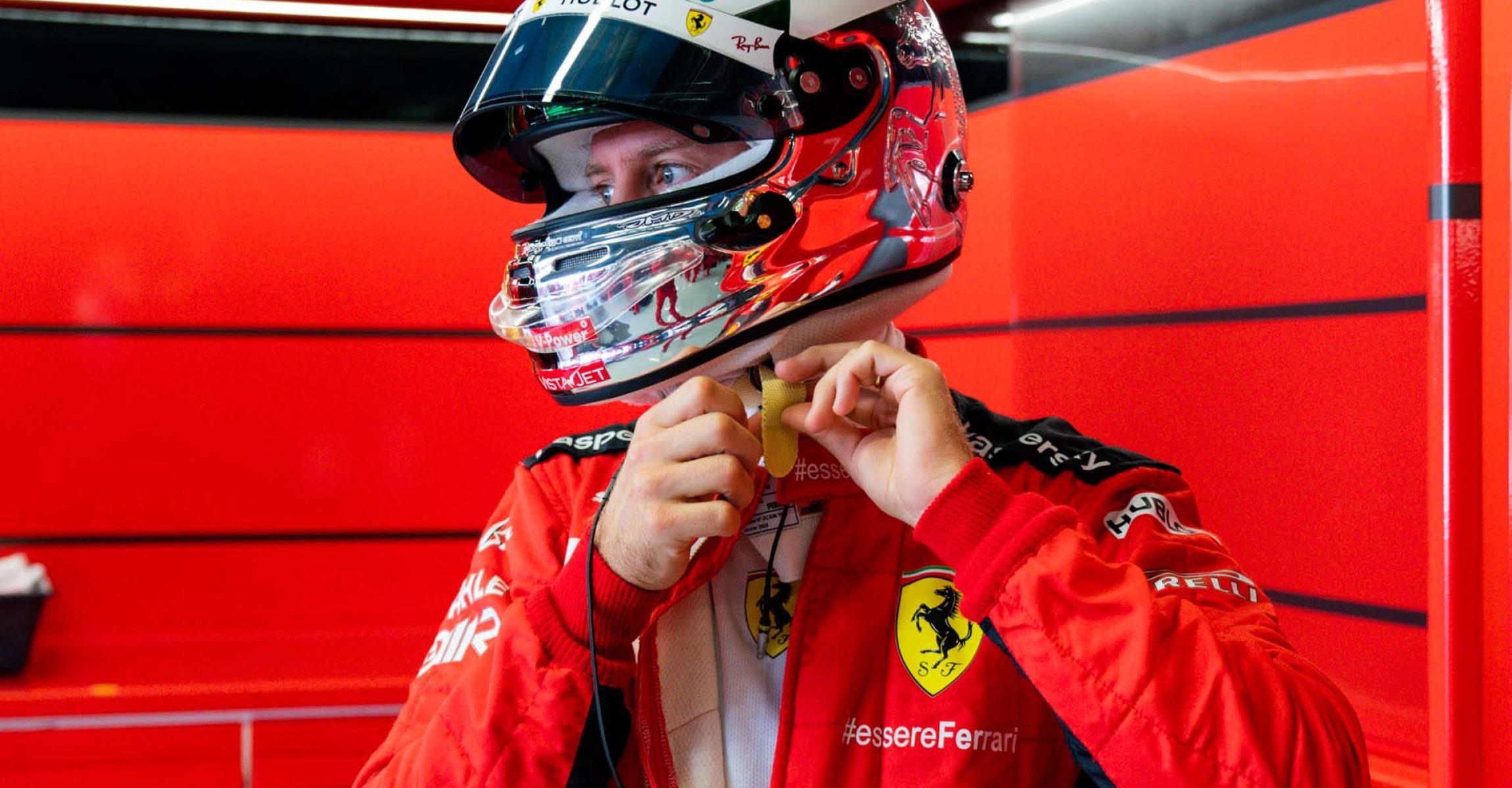 GP ITALIA F1/2020 -  VENERDÌ 04/09/2020       credit: @Scuderia Ferrari Press Office Sebastian Vettel