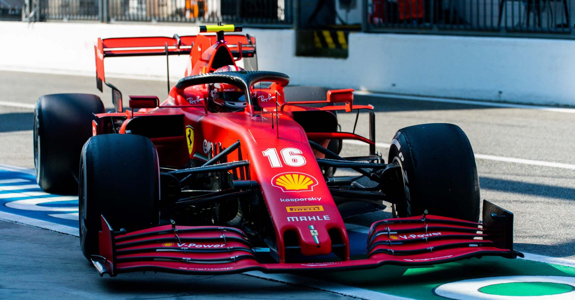 GP ITALIA F1/2020 -  VENERDÌ 04/09/2020       credit: @Scuderia Ferrari Press Office Charles Leclerc