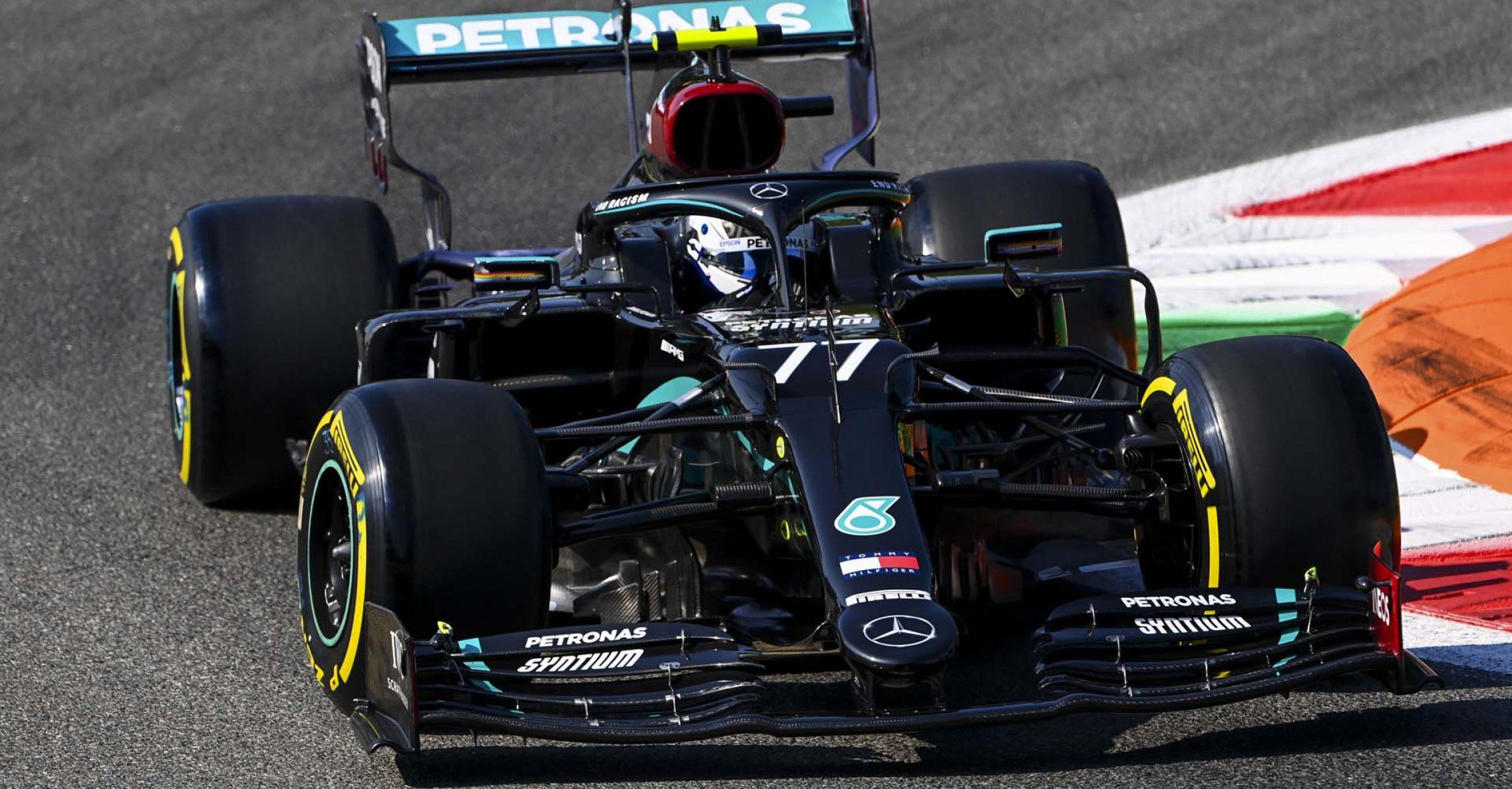 2020 Italian Grand Prix, Friday - LAT Images Valtteri Bottas Mercedes