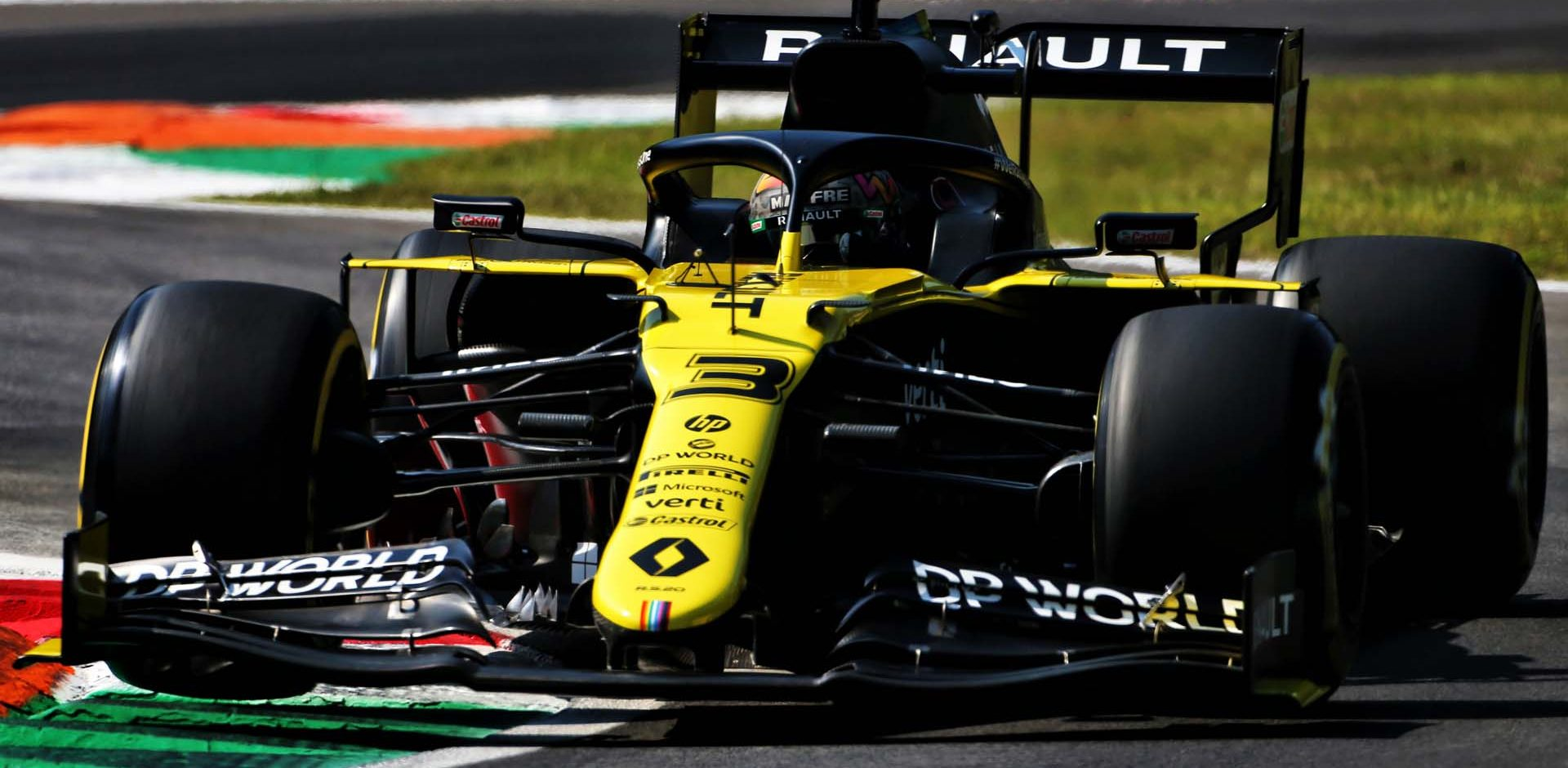 Daniel Ricciardo (AUS) Renault F1 Team RS20. Italian Grand Prix, Friday 4th September 2020. Monza Italy.