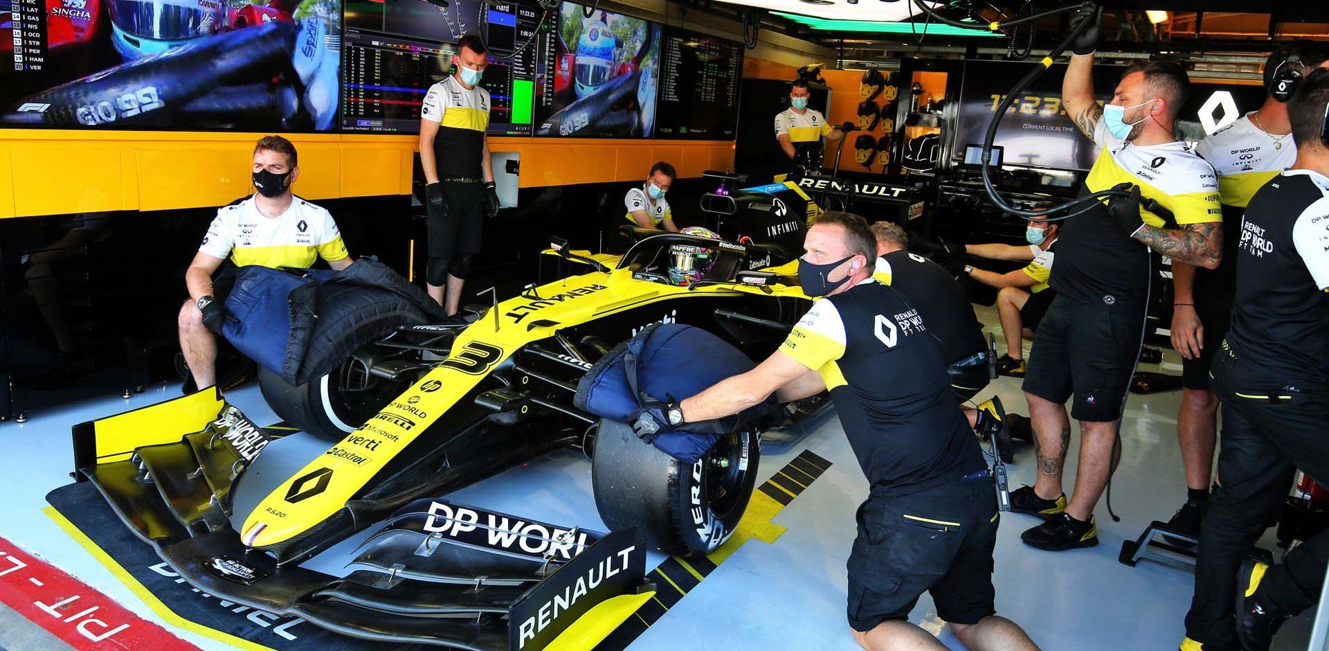 Daniel Ricciardo (AUS) Renault F1 Team RS20. Italian Grand Prix, Friday 4th September 2020. Monza Italy.