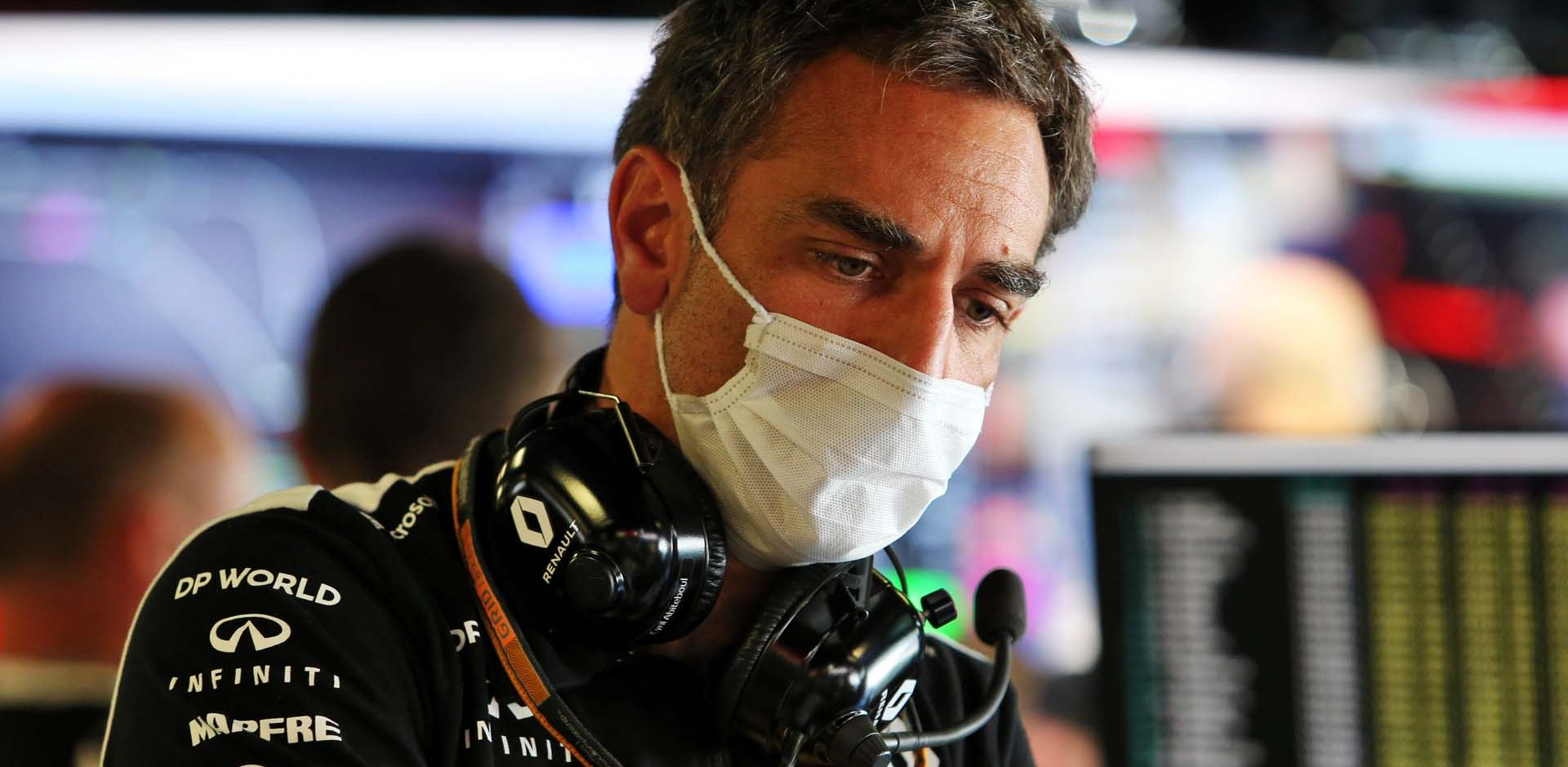 Cyril Abiteboul (FRA) Renault Sport F1 Managing Director. Italian Grand Prix, Friday 4th September 2020. Monza Italy.