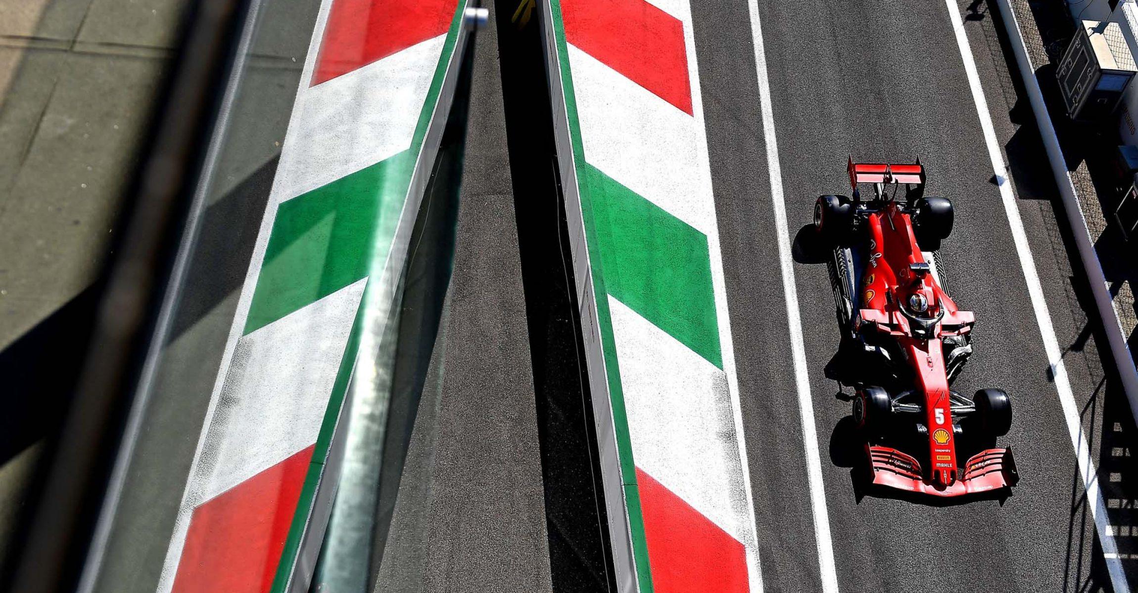 GP ITALIA F1/2020 -  SABATO 05/09/2020   credit: @Scuderia Ferrari Press Office Sebastian Vettel