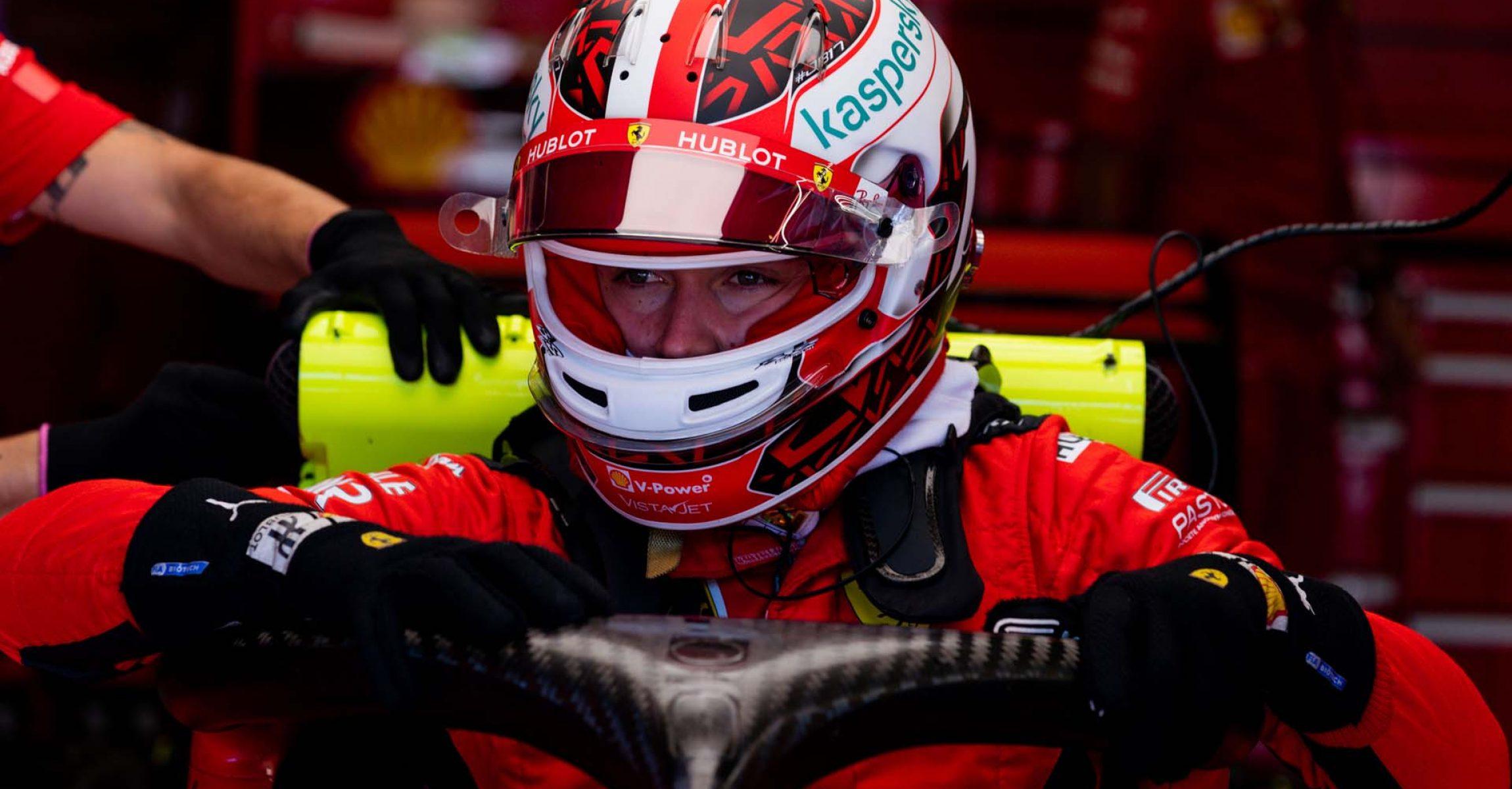 GP ITALIA F1/2020 -  SABATO 05/09/2020   credit: @Scuderia Ferrari Press Office Charles Leclerc