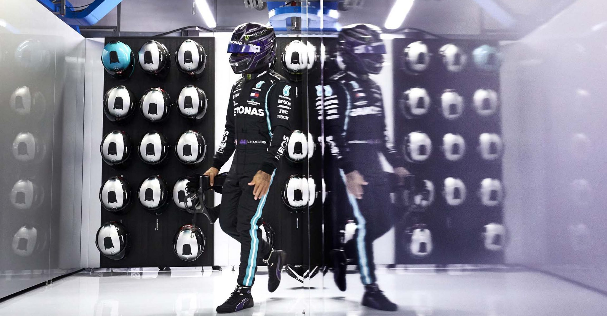 2020 Italian Grand Prix, Saturday - Steve Etherington Lewis Hamilton Mercedes