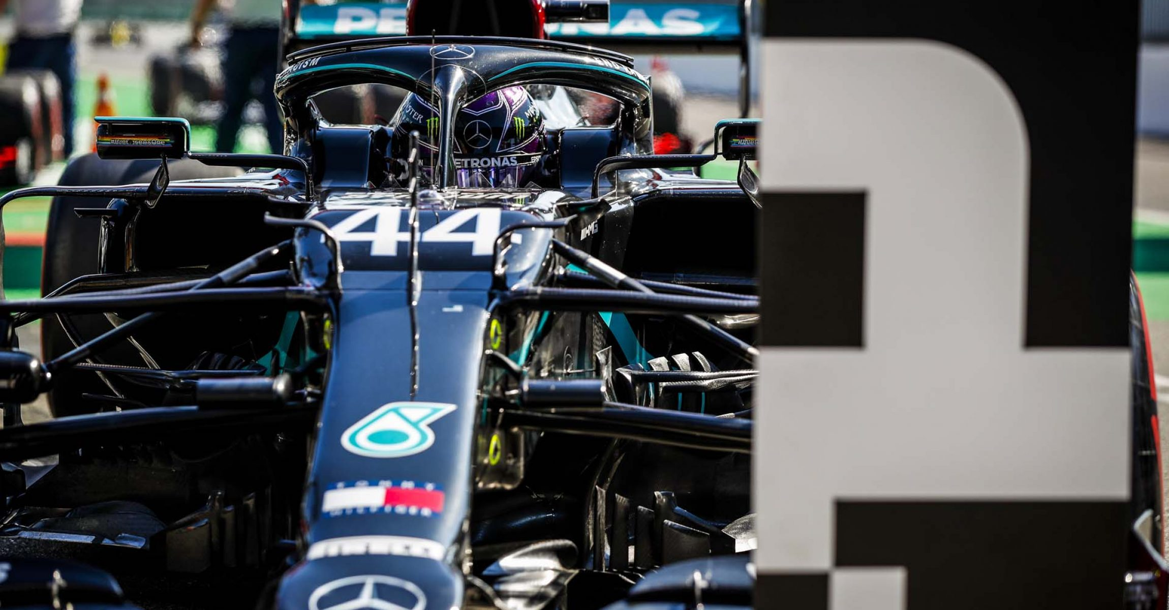 2020 Italian Grand Prix, Saturday - LAT Images Lewis Hamilton Mercedes