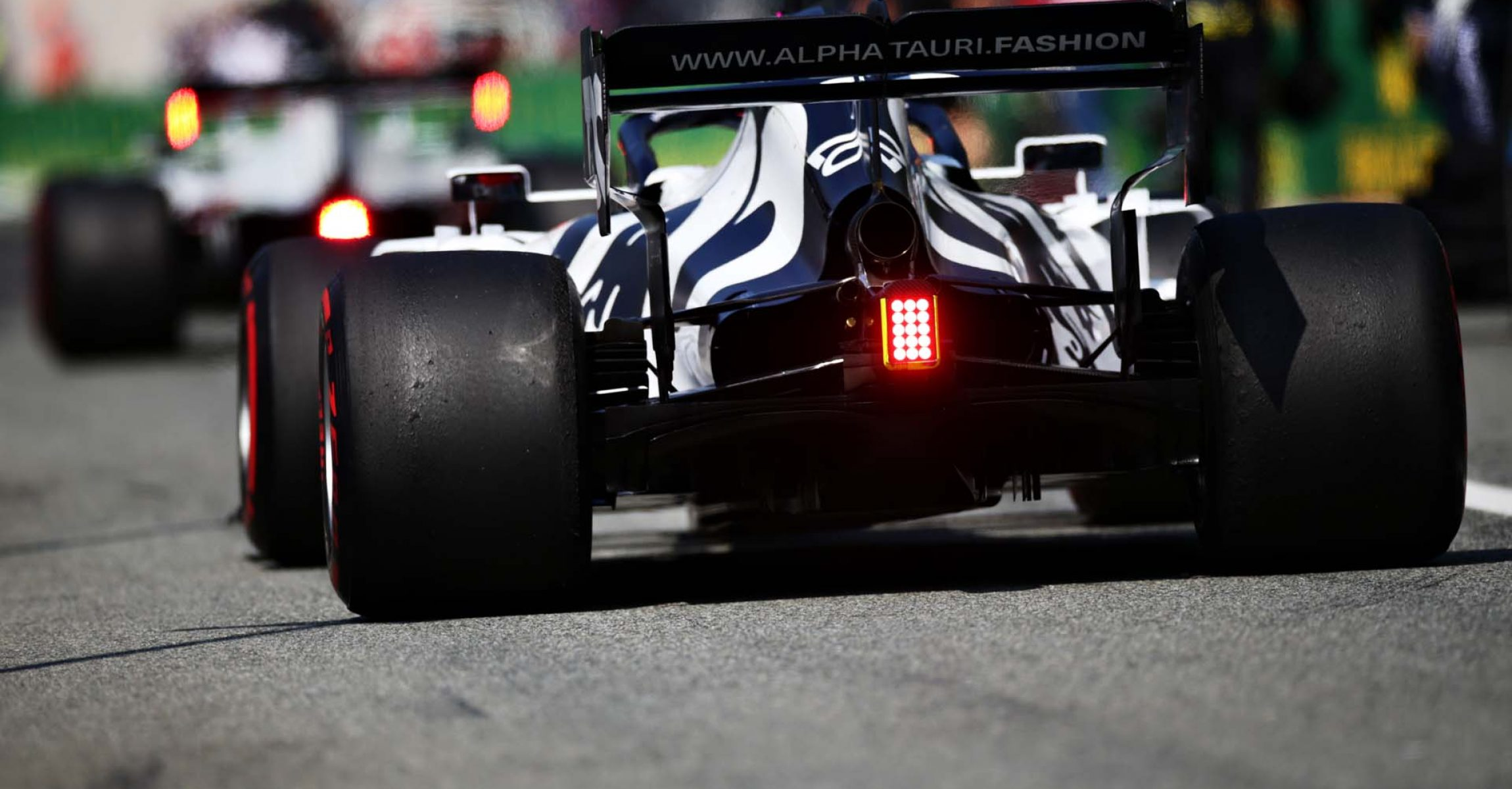 MONZA, ITALY - SEPTEMBER 06: Daniil Kvyat of Russia driving the (26) Scuderia AlphaTauri AT01 Honda in the Pitlane before the F1 Grand Prix of Italy at Autodromo di Monza on September 06, 2020 in Monza, Italy. (Photo by Peter Fox/Getty Images)