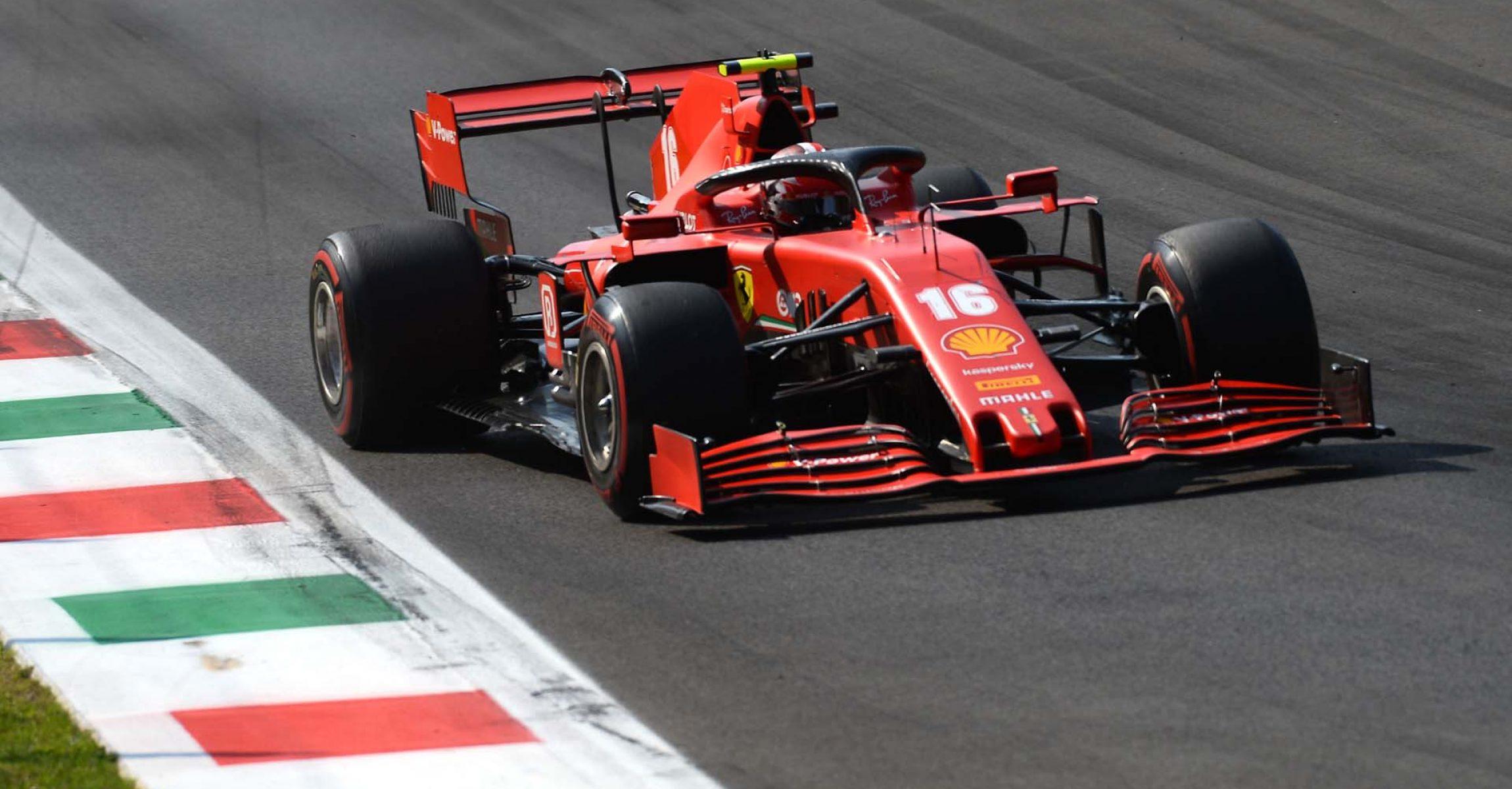GP ITALIA F1/2020 -  DOMENICA 06/09/2020   credit: @Scuderia Ferrari Press Office Charles Leclerc