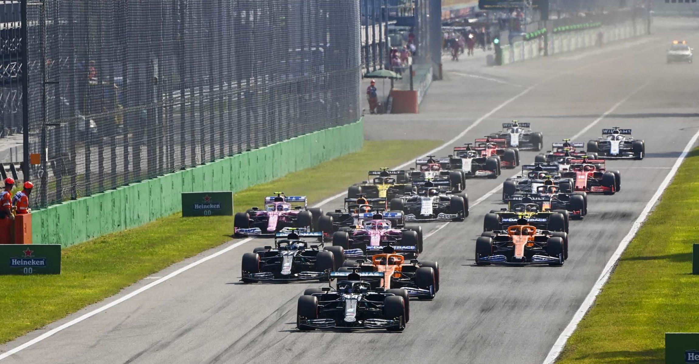 2020 Italian Grand Prix, Sunday - LAT Images start