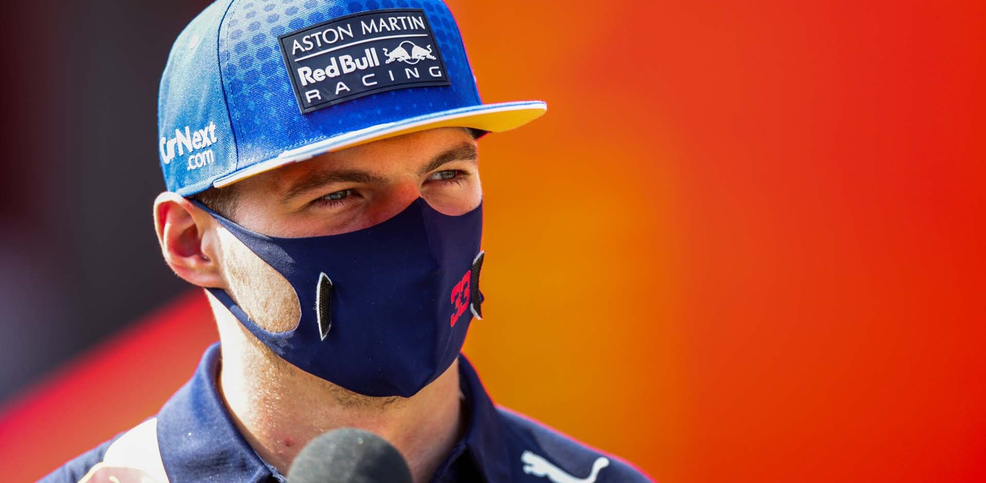 MONZA, ITALY - SEPTEMBER 06: Max Verstappen of Red Bull Racing and The Netherlands  during the F1 Grand Prix of Italy at Autodromo di Monza on September 06, 2020 in Monza, Italy. (Photo by Peter Fox/Getty Images)