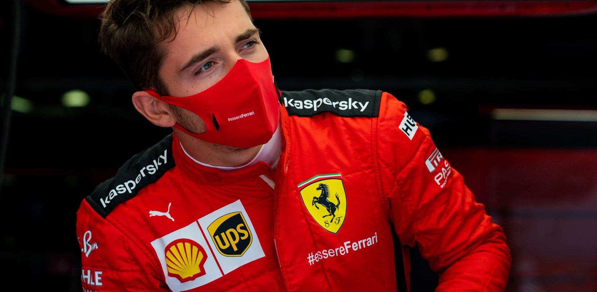 GP ITALIA F1/2020 -  GIOVEDI 03/09/2020        credit: @Scuderia Ferrari Press Office Charles Leclerc