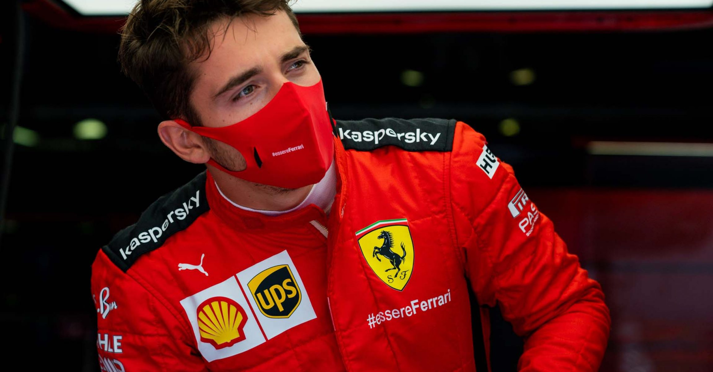 GP ITALIA F1/2020 -  GIOVEDI 03/09/2020        credit: @Scuderia Ferrari Press Office Charles Leclerc