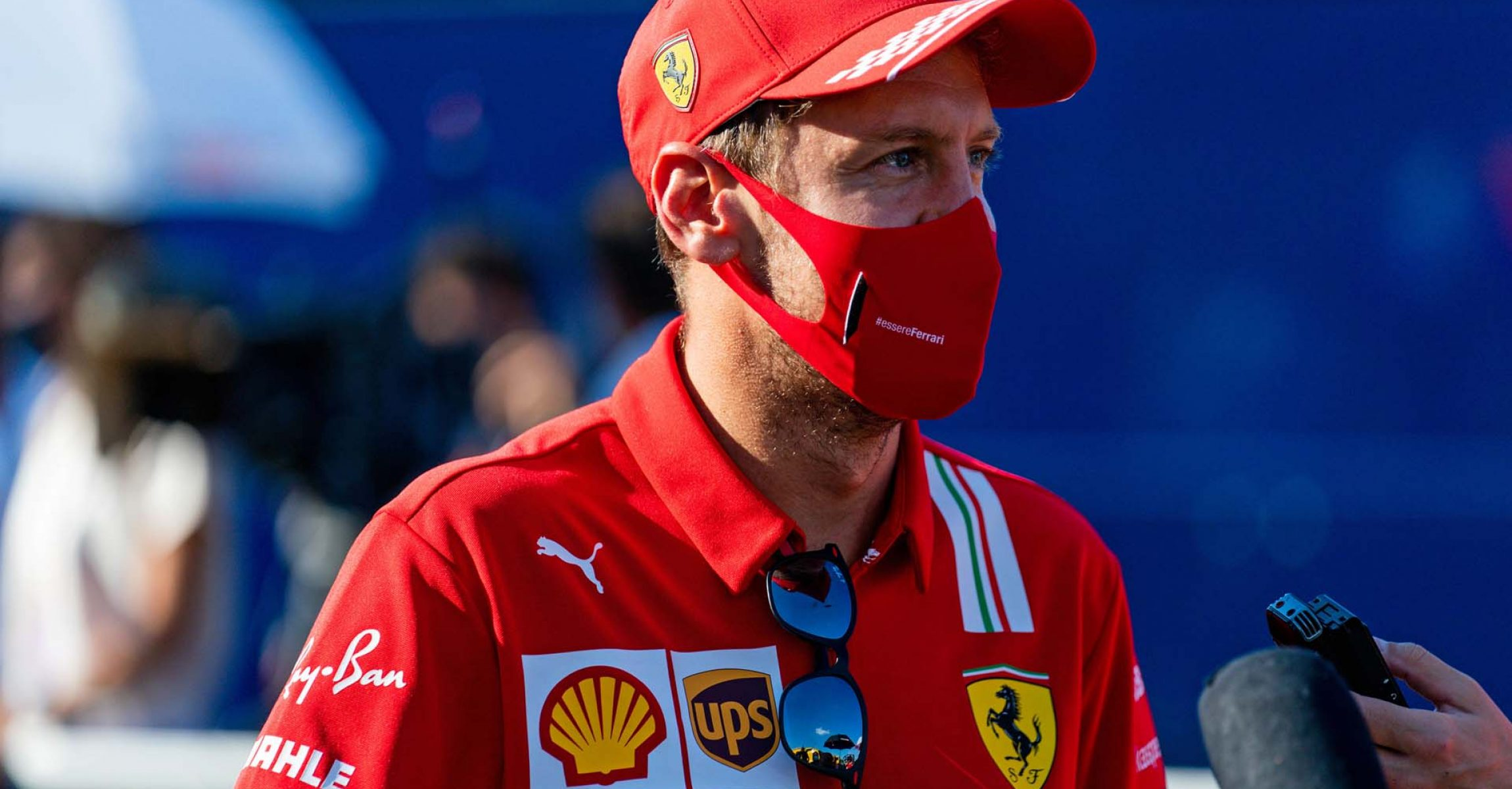 GP ITALIA F1/2020 -  GIOVEDI 03/09/2020        credit: @Scuderia Ferrari Press Office Sebastian Vettel