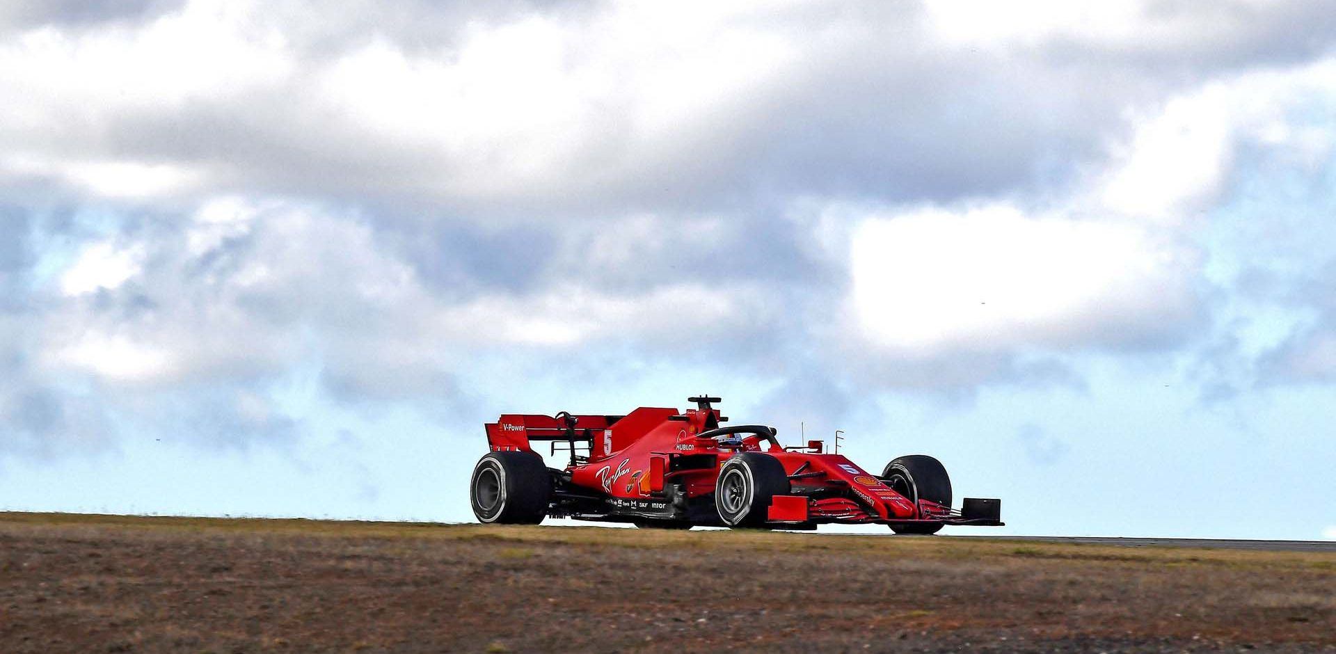 GP PORTOGALLO F1/2020 -  VENERDÌ 23/10/2020   credit: @Scuderia Ferrari Press Office Sebastian Vettel