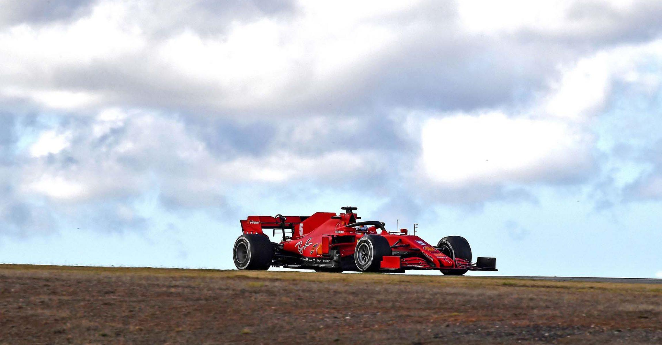 GP PORTOGALLO F1/2020 -  VENERDÌ 23/10/2020   credit: @Scuderia Ferrari Press Office Sebastian Vettel